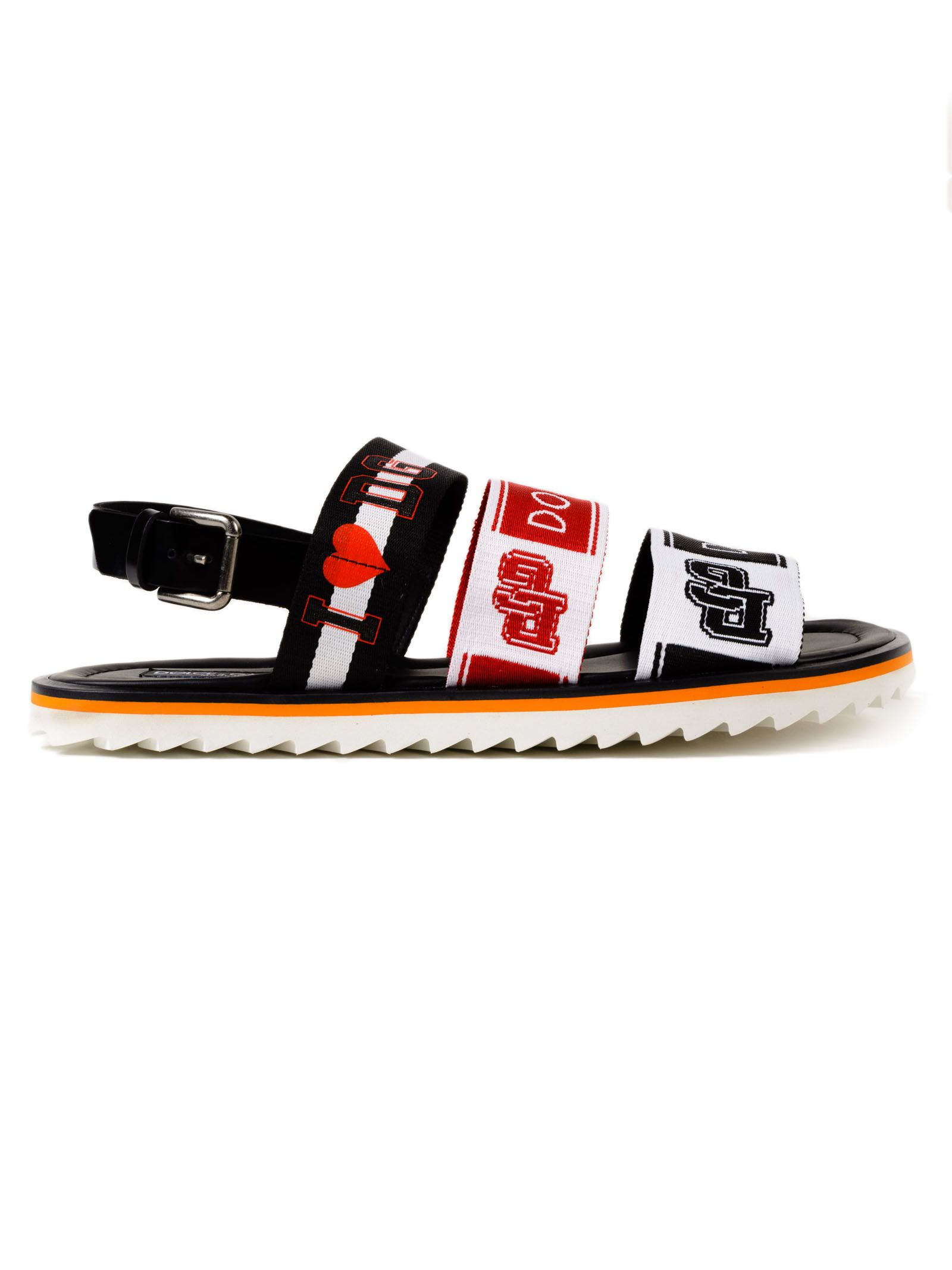 Mediterraneo sandals - Black Dolce & Gabbana eZjiBrrAXg