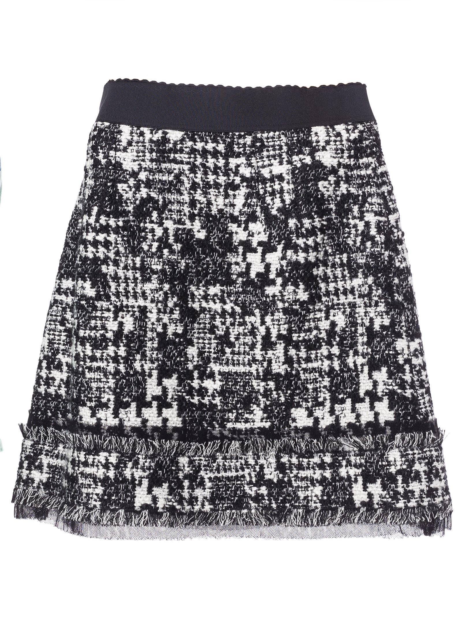 Dolce & Gabbana Fringed Mini Skirt
