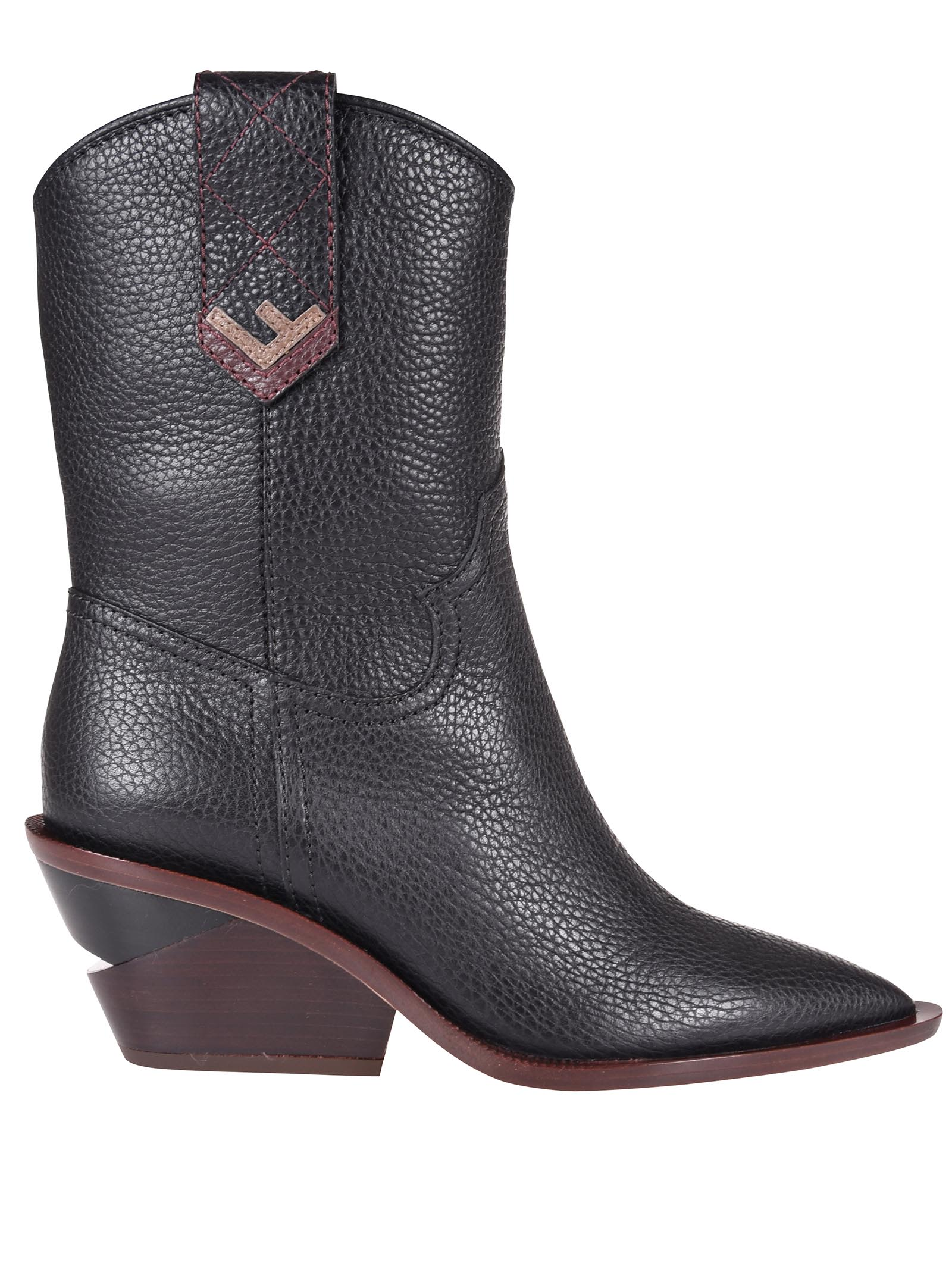 Fendi Western Ankle Boots
