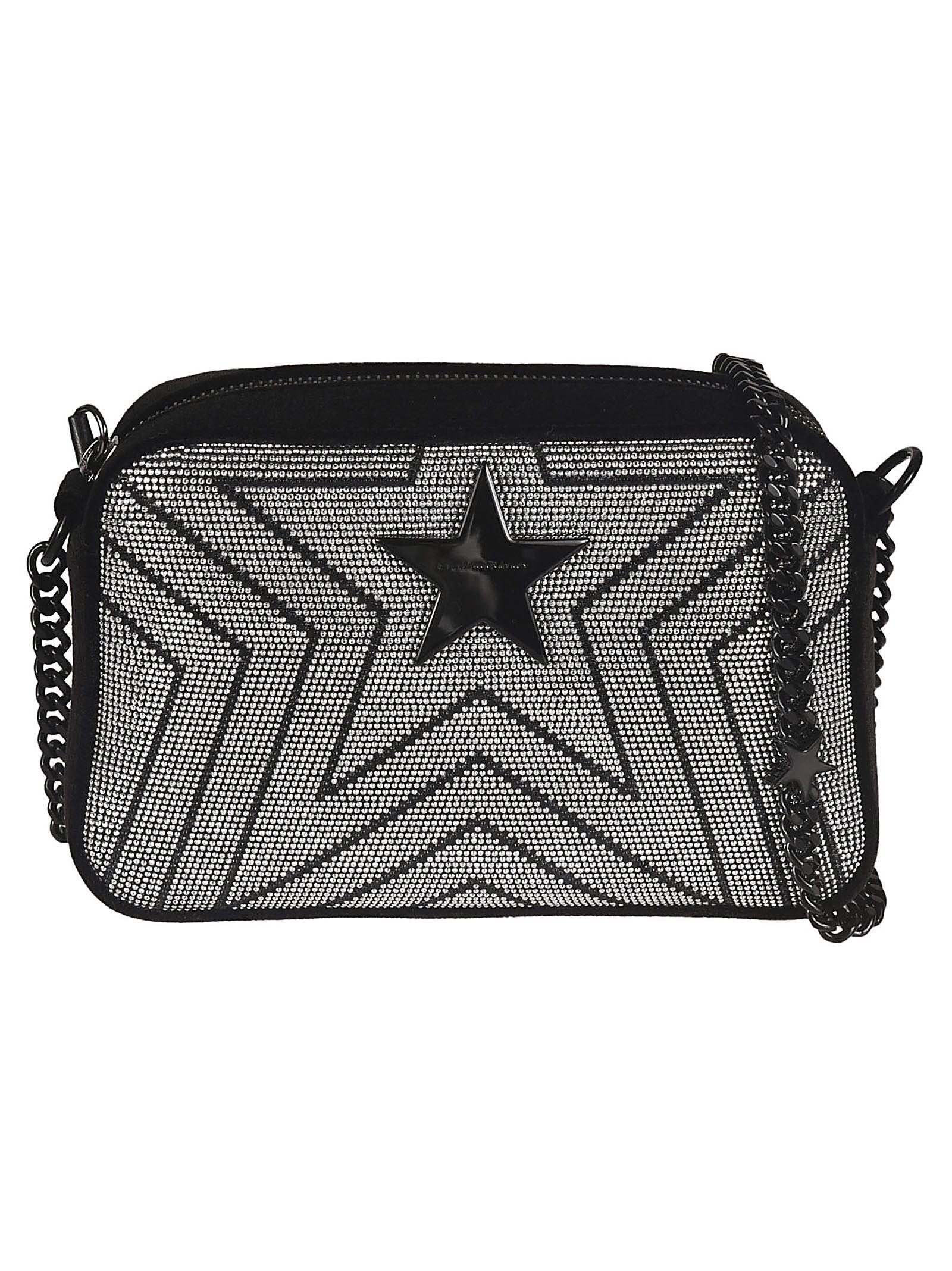 229f9ab9003 Stella Mccartney Stella Star Shoulder Bag In Black   ModeSens