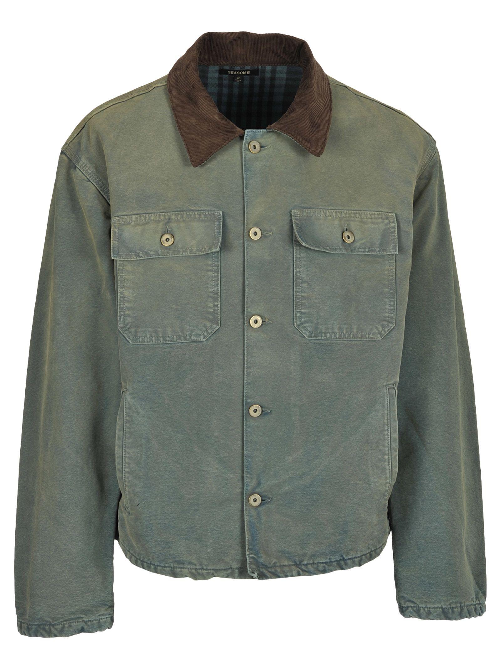 Yeezy Kanye West Canvas Jacket
