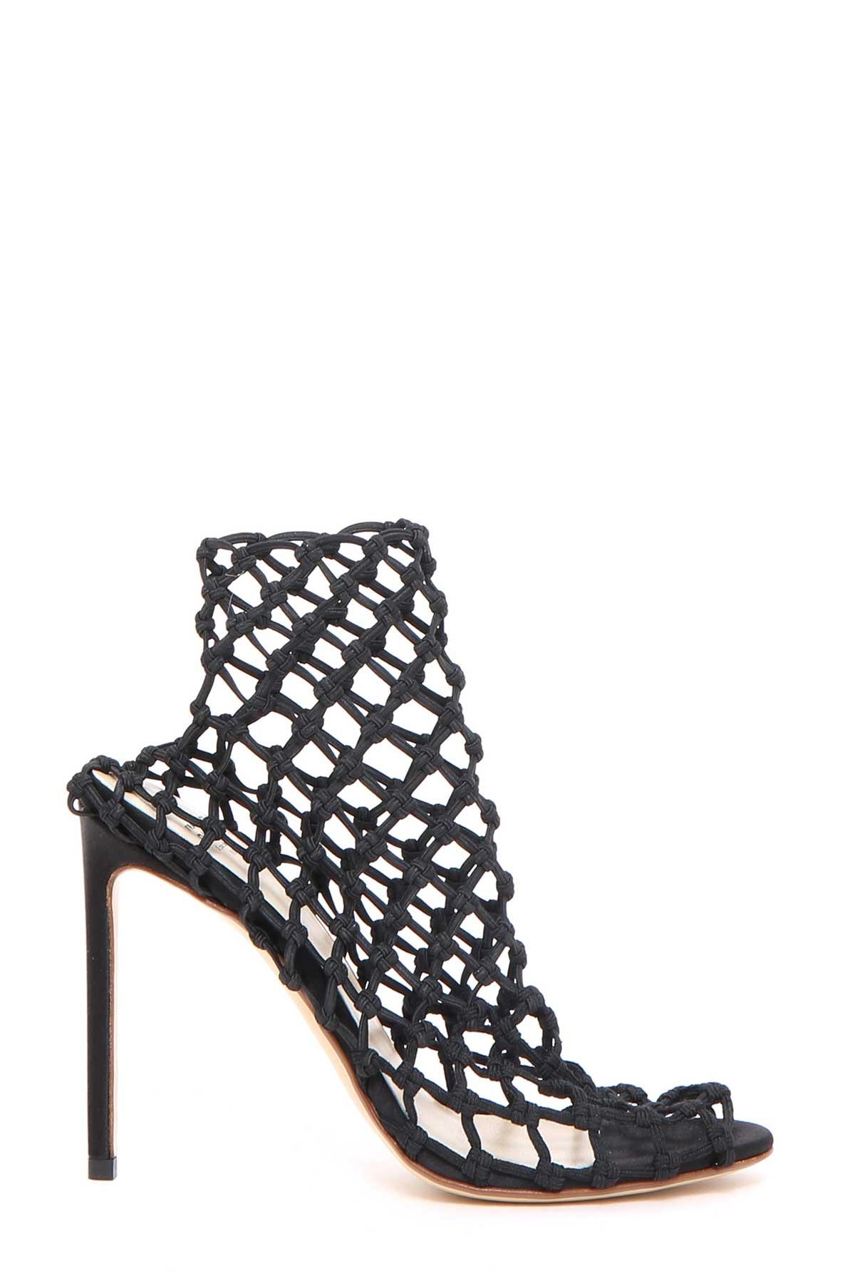 Elastic cage sandal Francesco Russo HlFKT62j