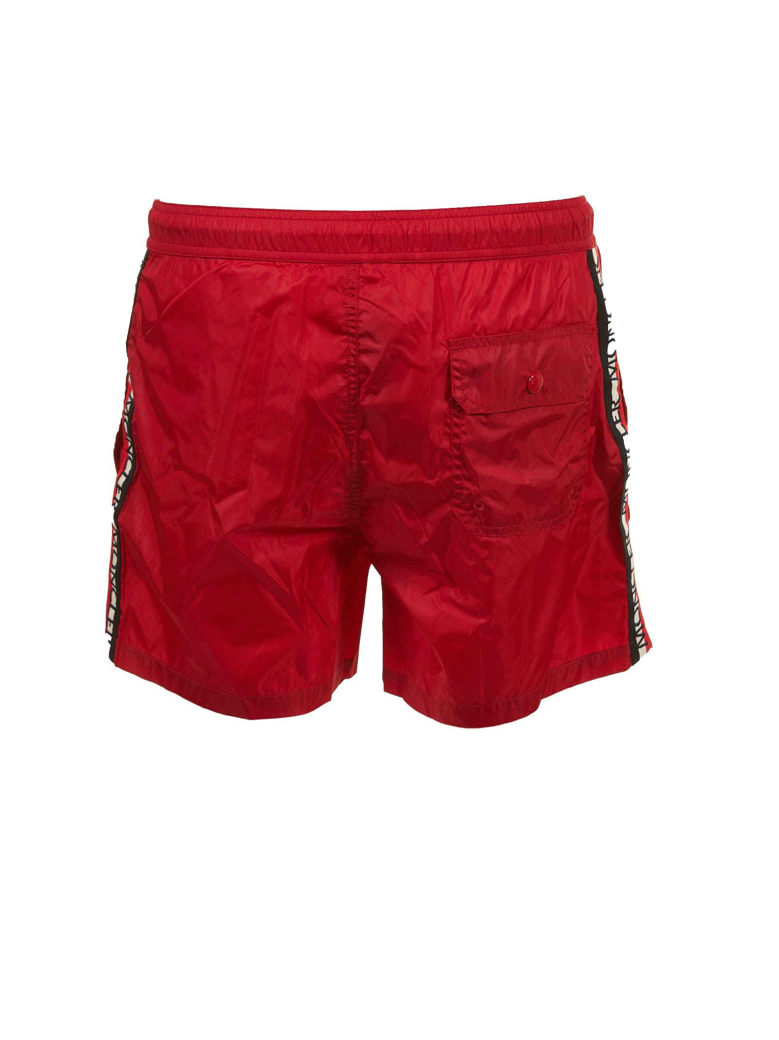 Moncler Side Stripe Swim Shorts Moncler Side Stripe Swim Shorts