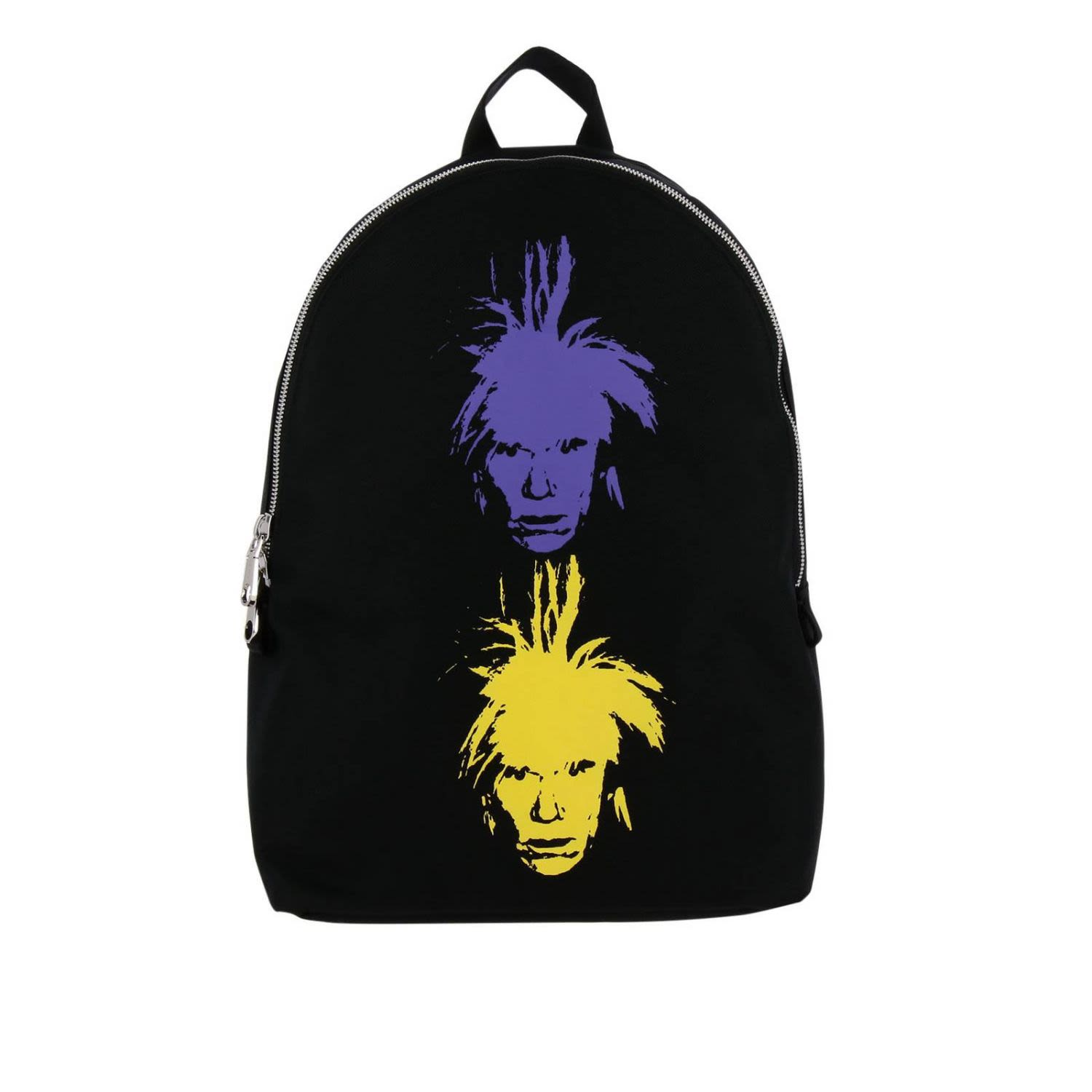 Backpack Shoulder Bag Women Ckj Warhol Self-Portrait, Black