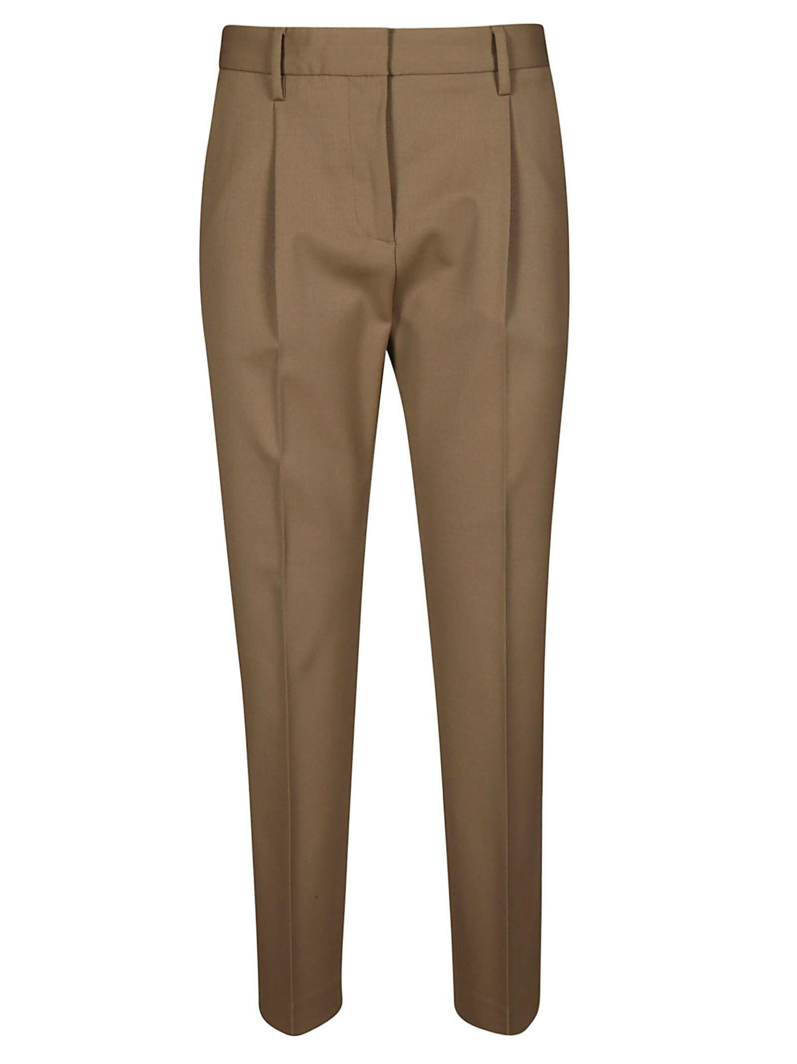BRAG-WETTE Brag-Wette Classic Trousers in Cammello