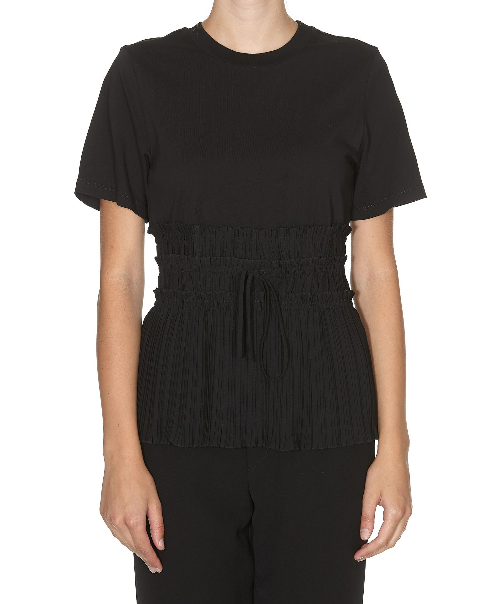 PLEATED TSHIRT