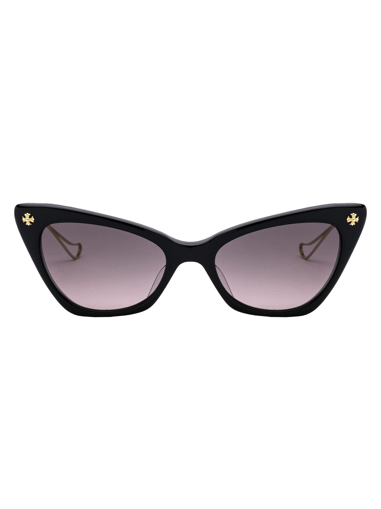CHROME HEARTS Bailey Girl Sunglasses in Bkgp