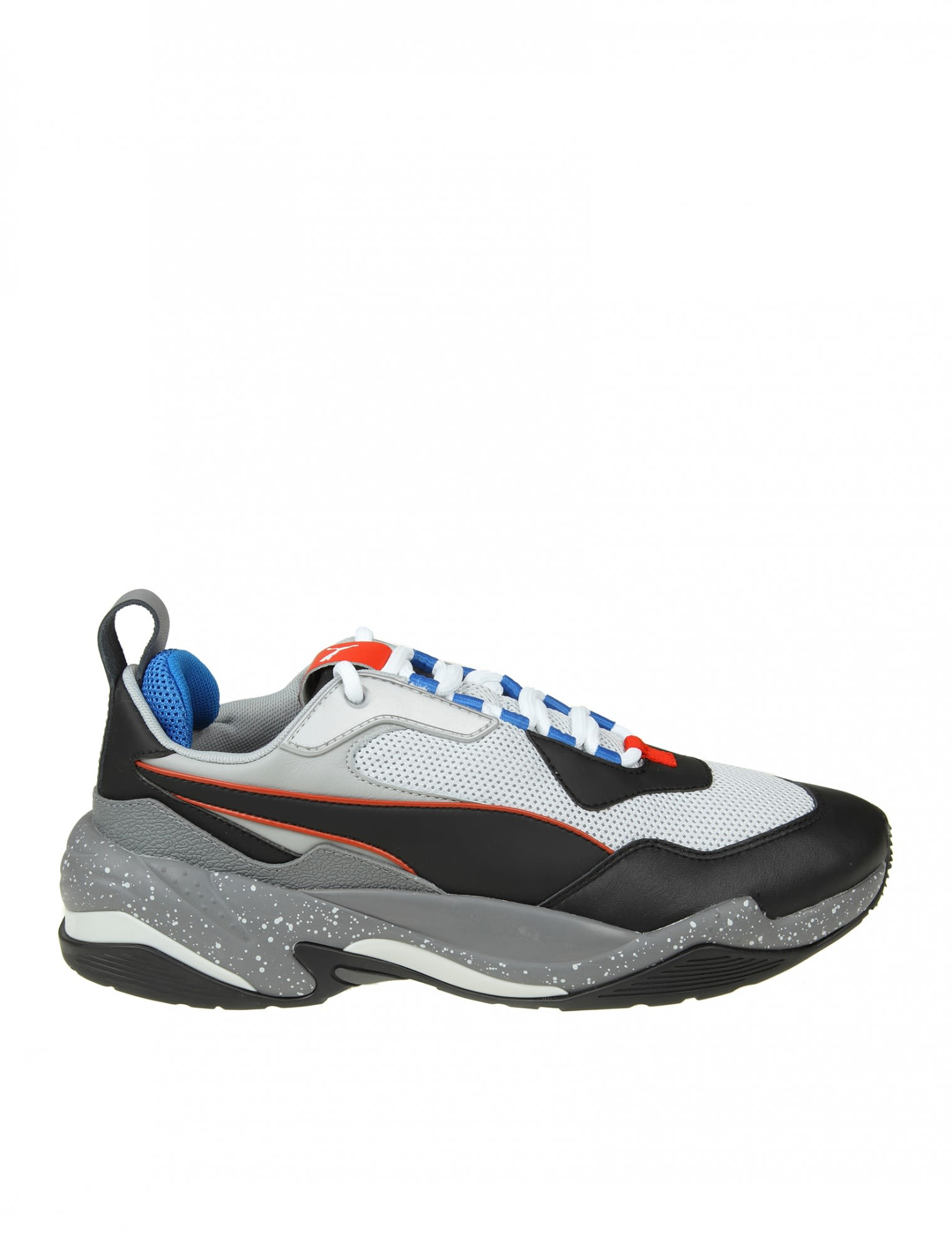 "puma -  Sneakers ""thunder Elettric"" In Gray / Black Leather"