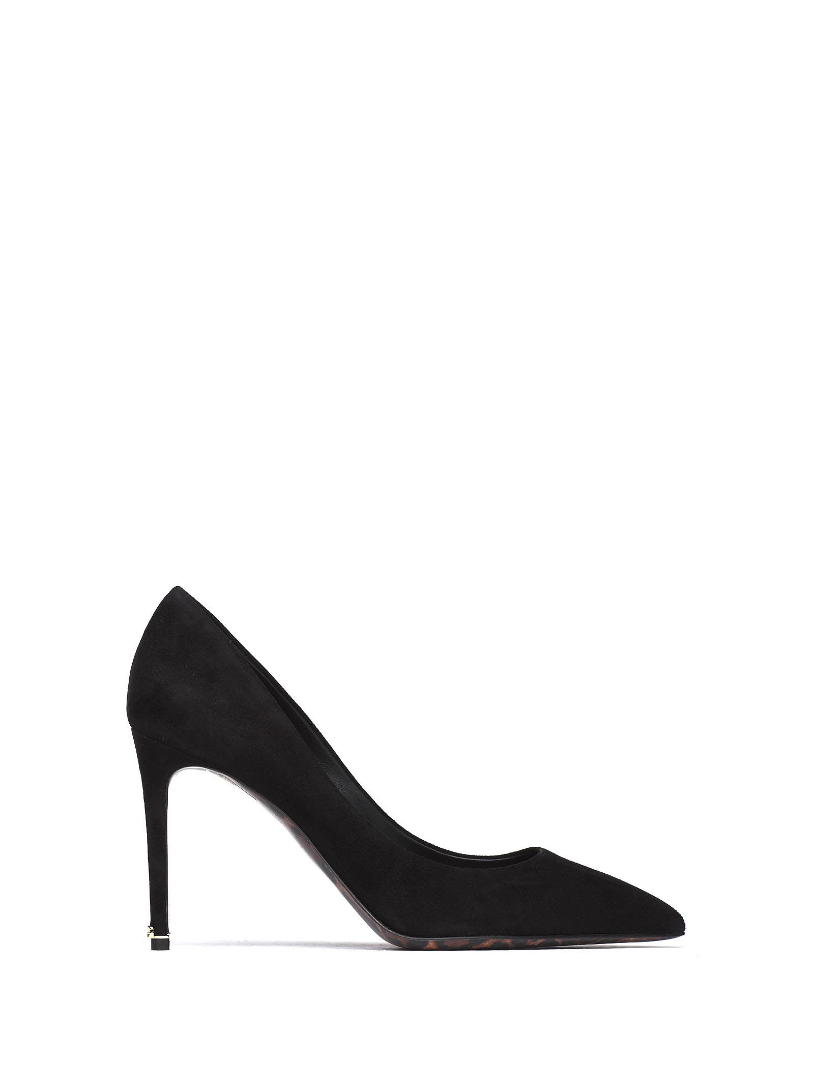 Dolce & Gabbana Pumps Dolce & Gabbana Black Suede Pumps