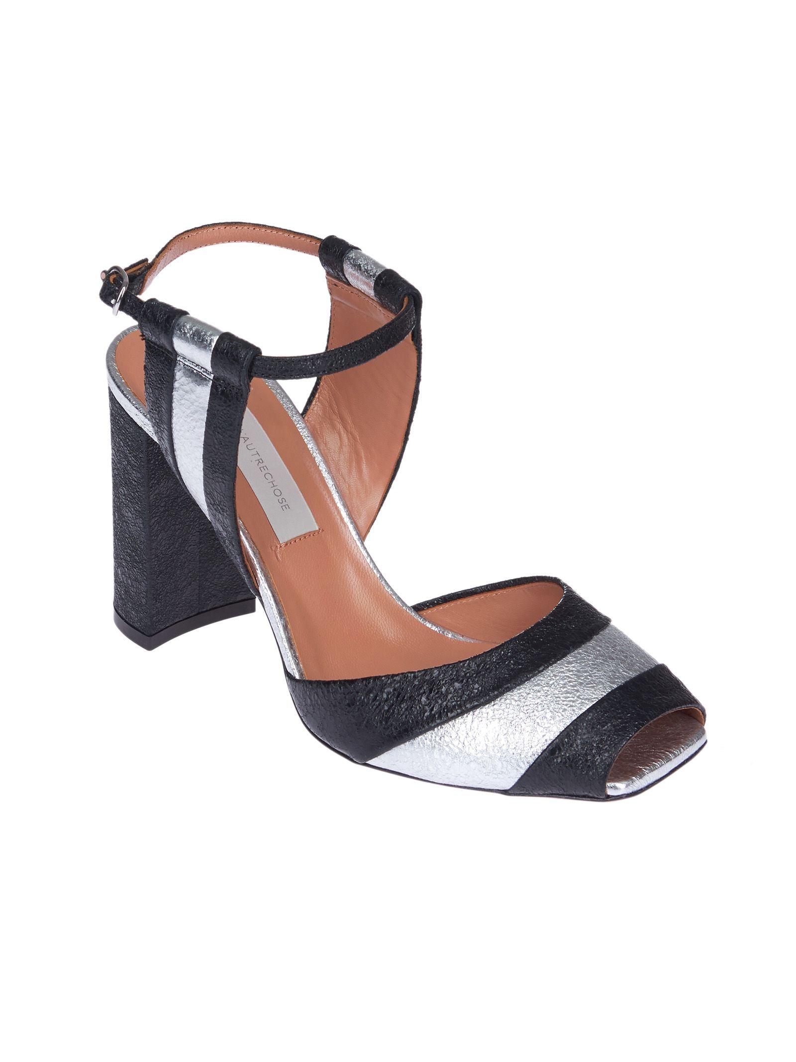 L'Autre Chose striped sandals official online best prices cheap online raJK4aq