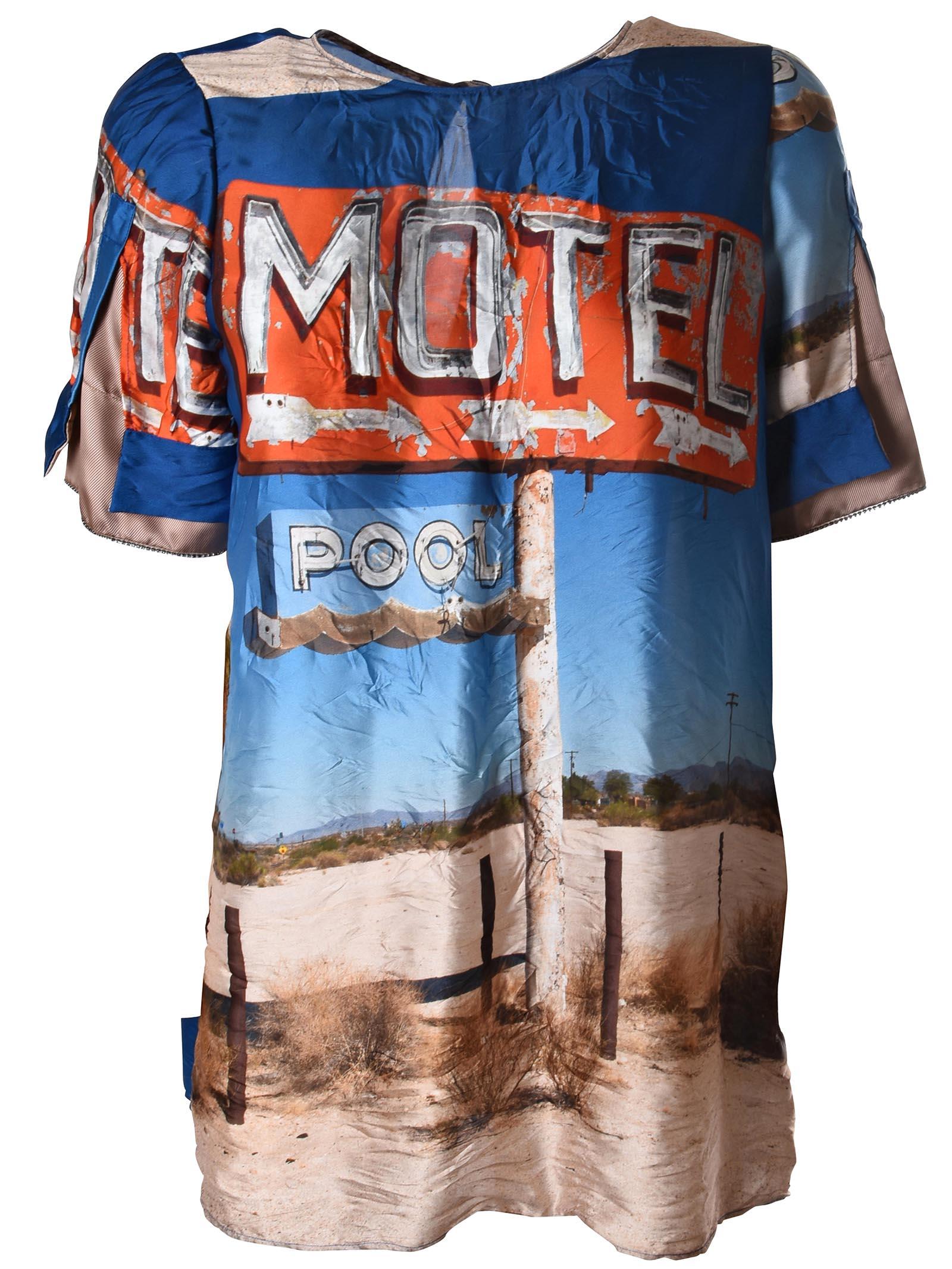 N.21 Motel Print Top