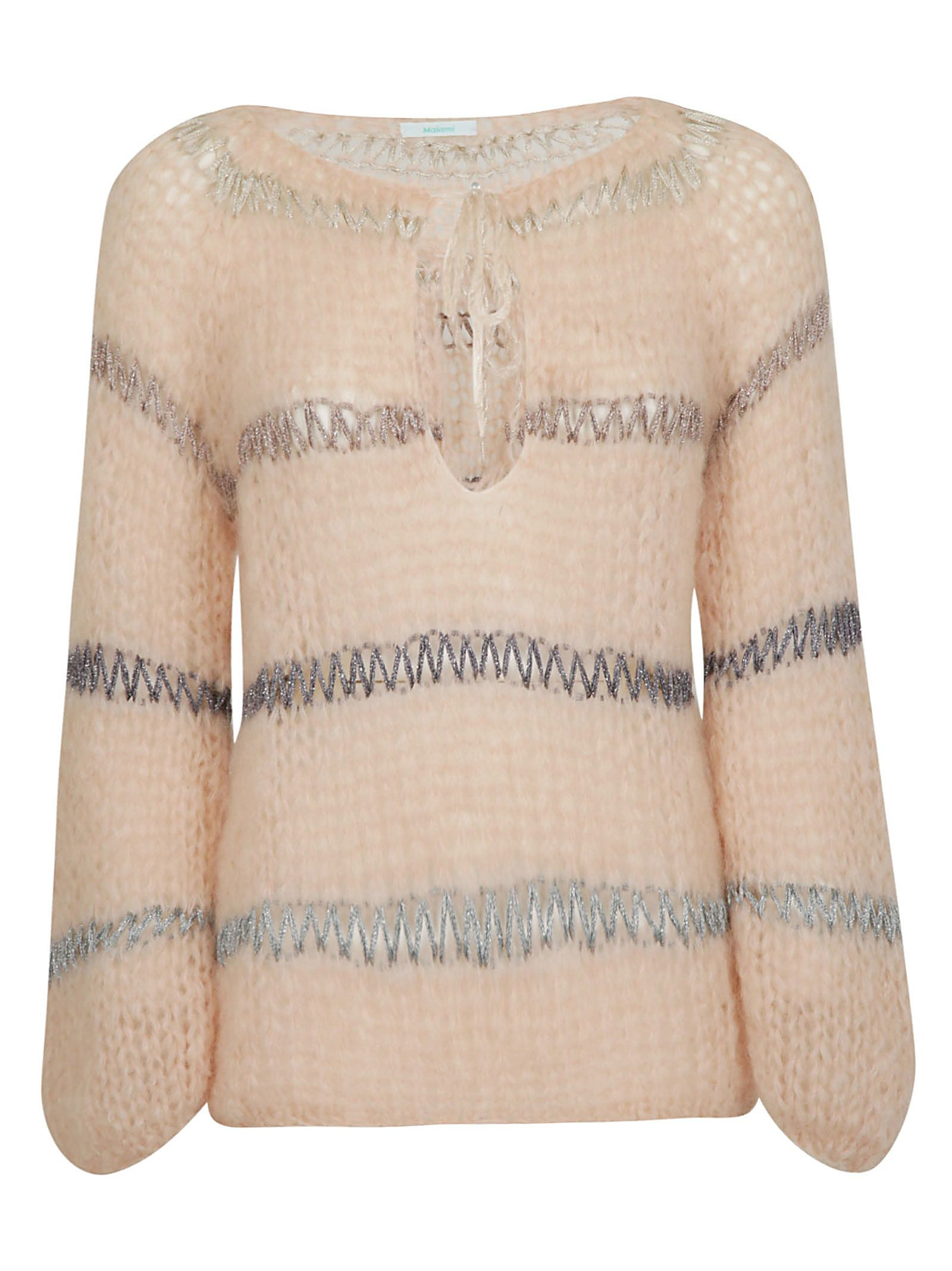 MAIAMI Maiami Knitted Sweater in Nude