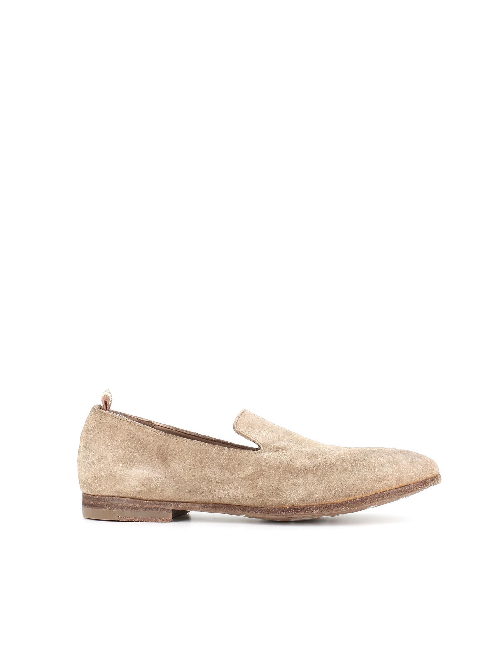 Officine Creative Leather Round-Toe Flats pick a best GUmww
