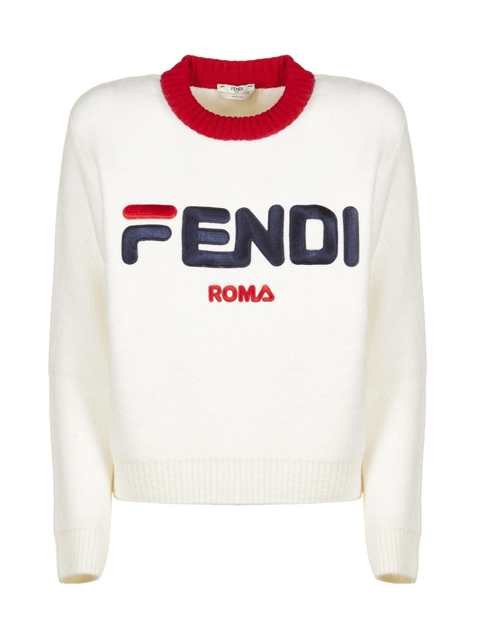 fendi -  Fila X  Logo Sweater