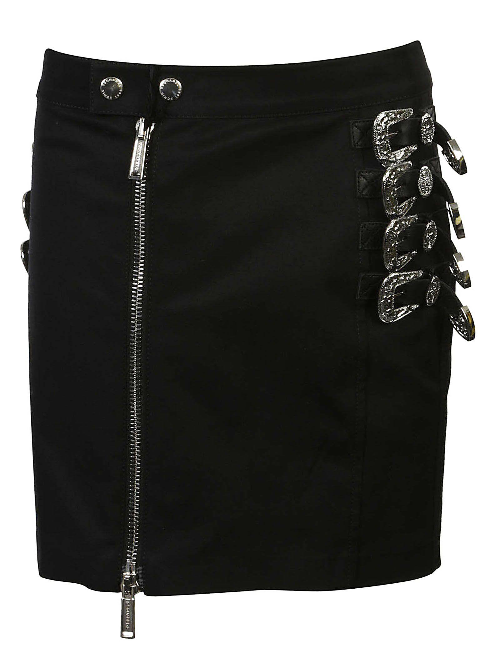 Dsquared2 Buckled Short Skirt