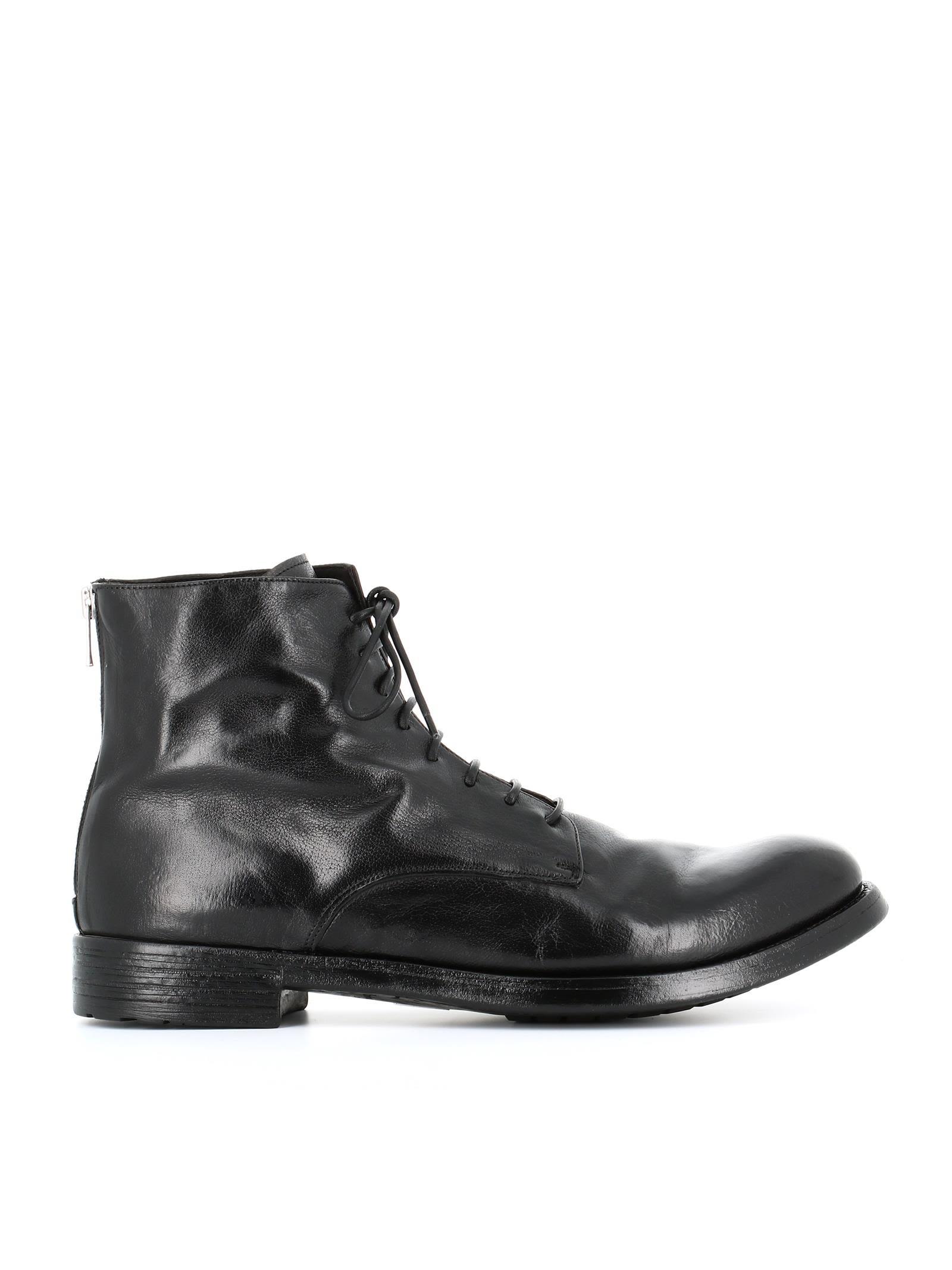 competitive price 2b69a 5c44c Officine Creative botas Hive Negro 47 EU Zapatos elnegro elnegro Zapatos  3cb823