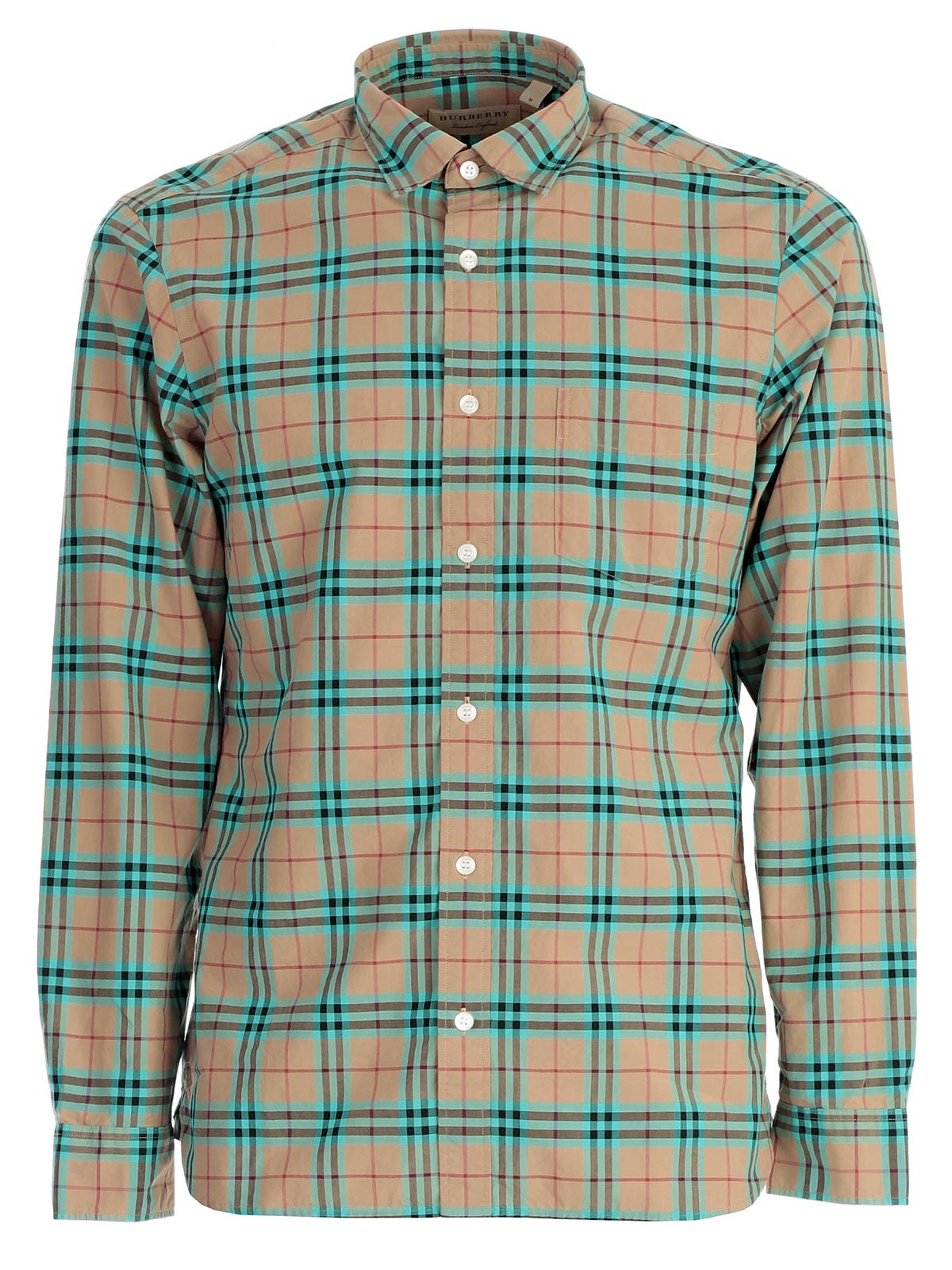 burberry plaid mens shirt