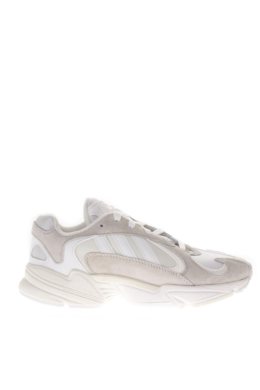 Adidas Originals White Nubuck Sneakers