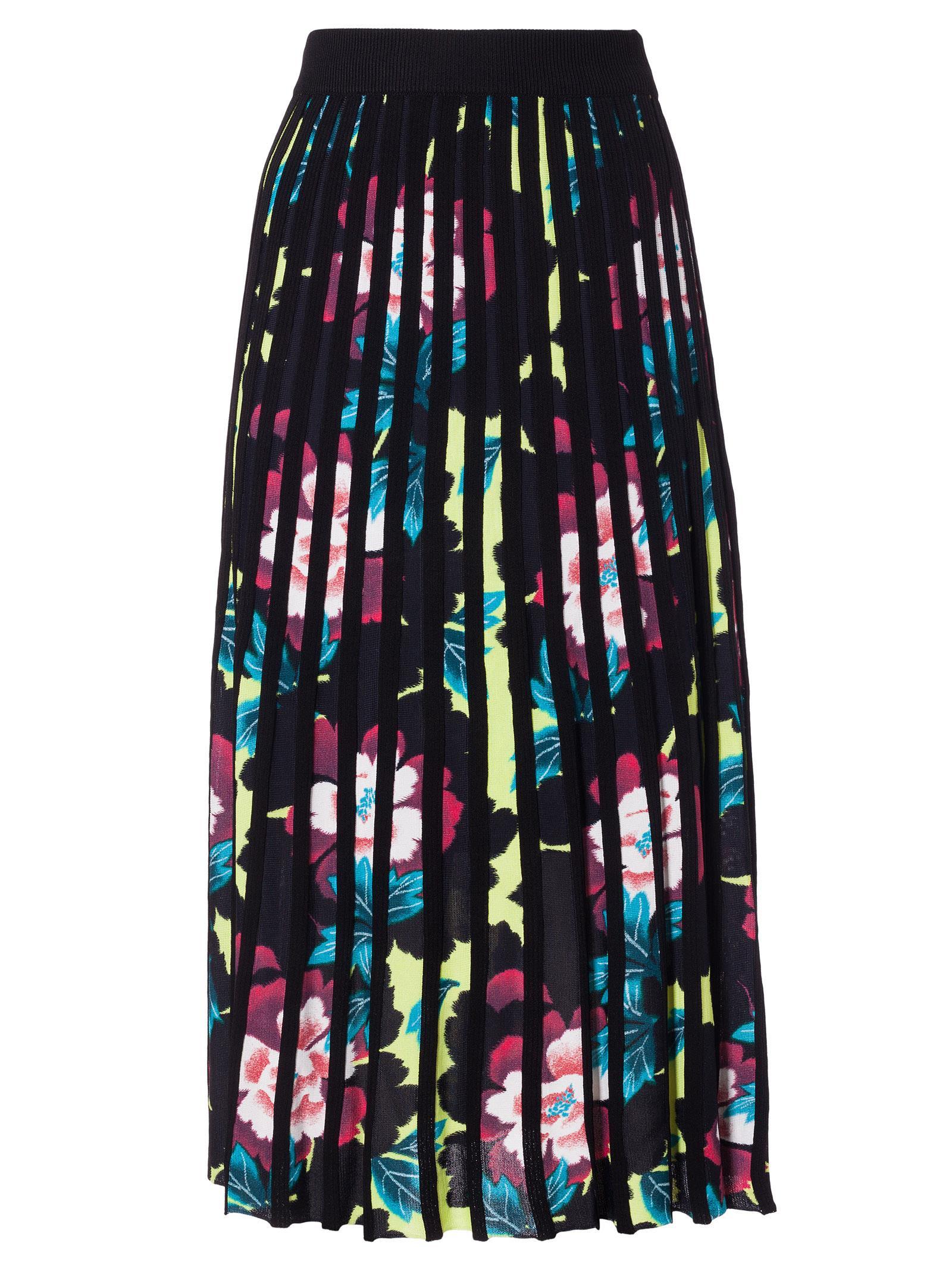 Kenzo Midi skirts PLEATED FLORAL SKIRT