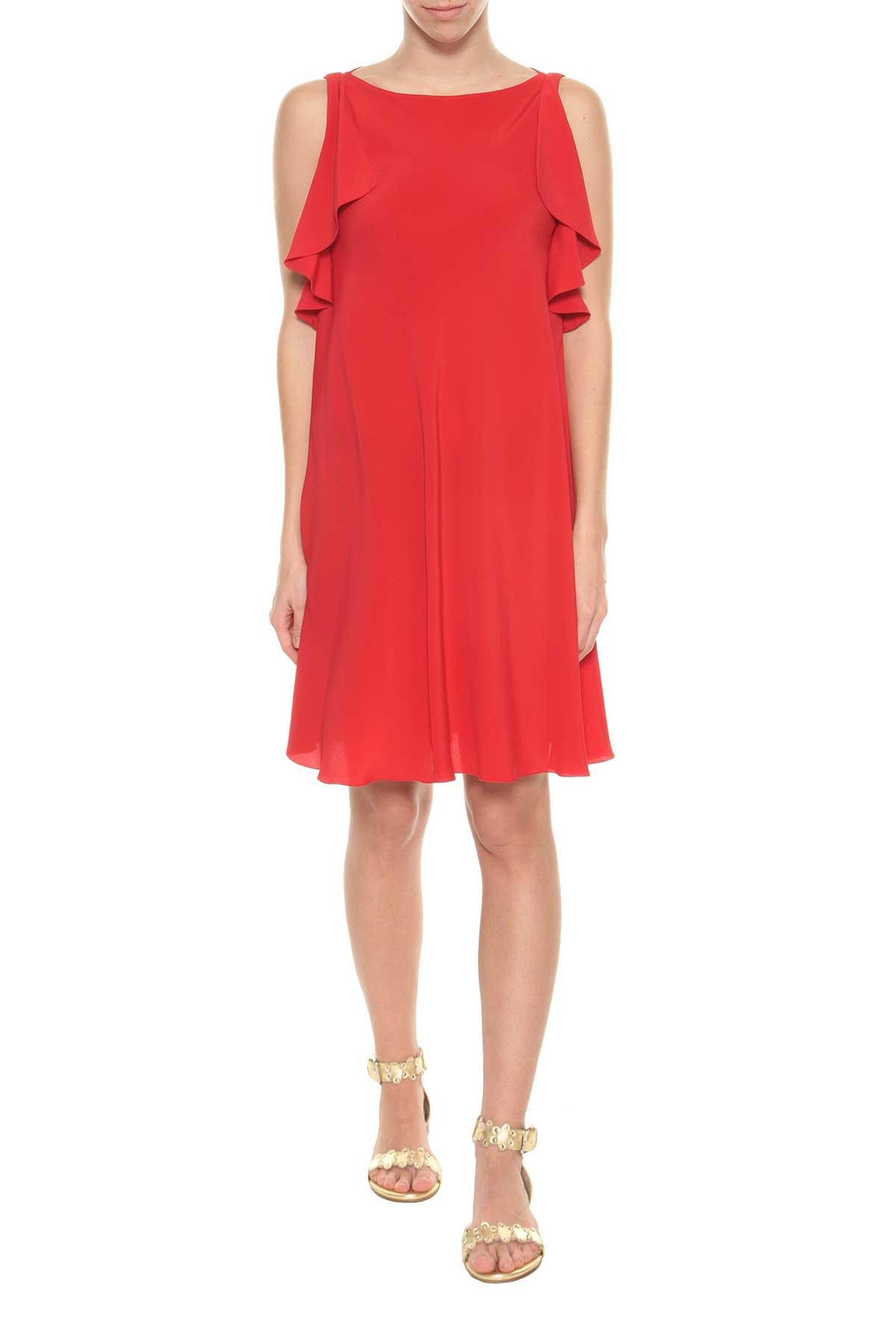 Crepe short dress Red Valentino Cn099zL