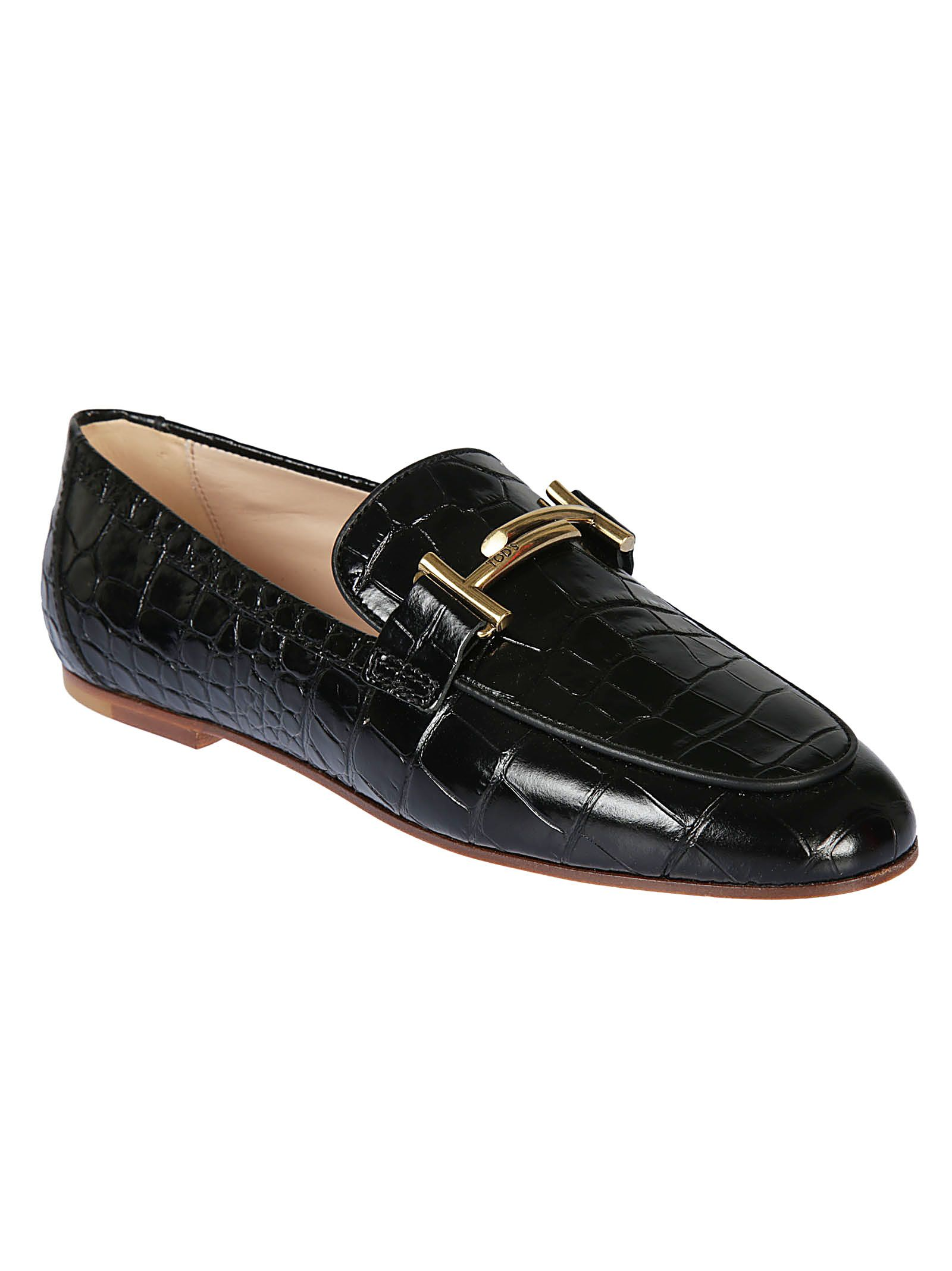 Tod's Varnished Patterned Loafers Cheap Genuine glvBmdEf