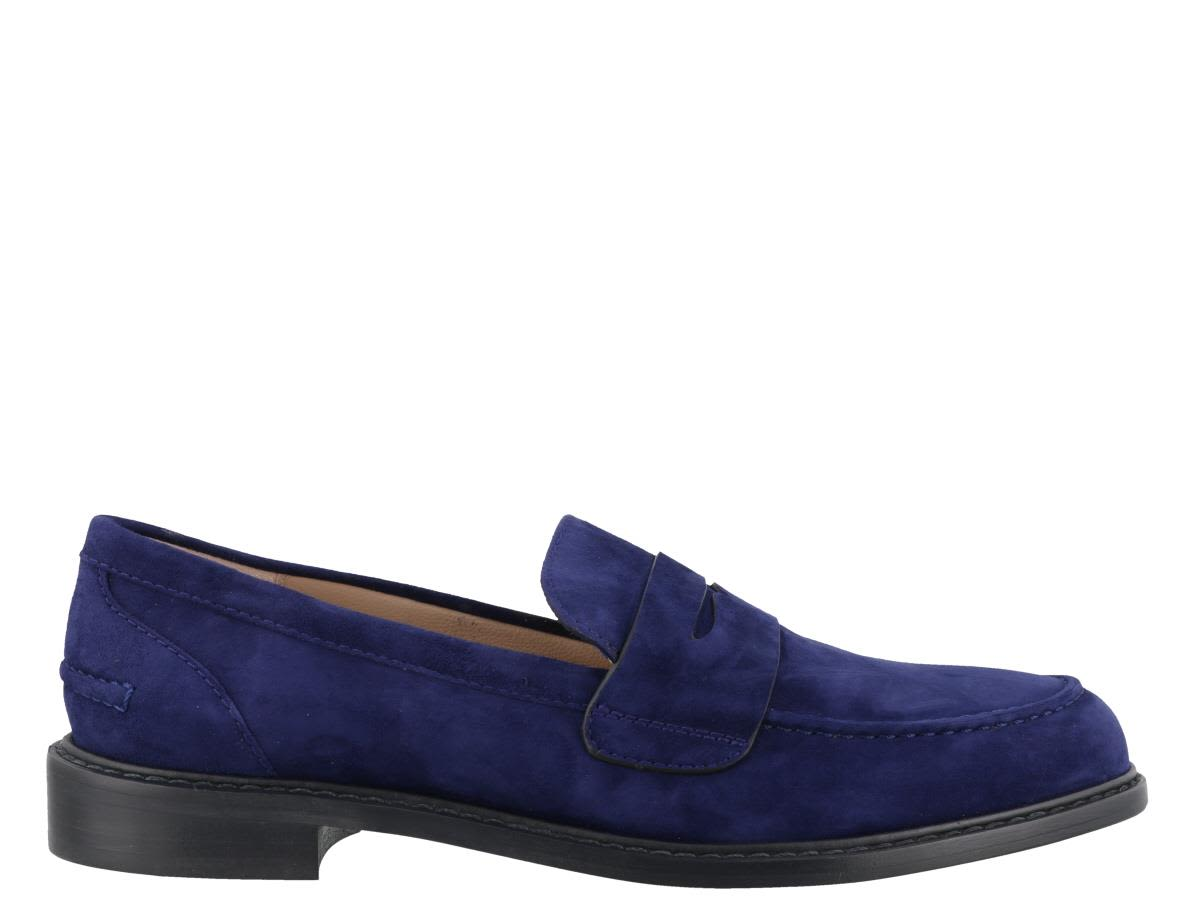 Rubpennies Loafers, Blue