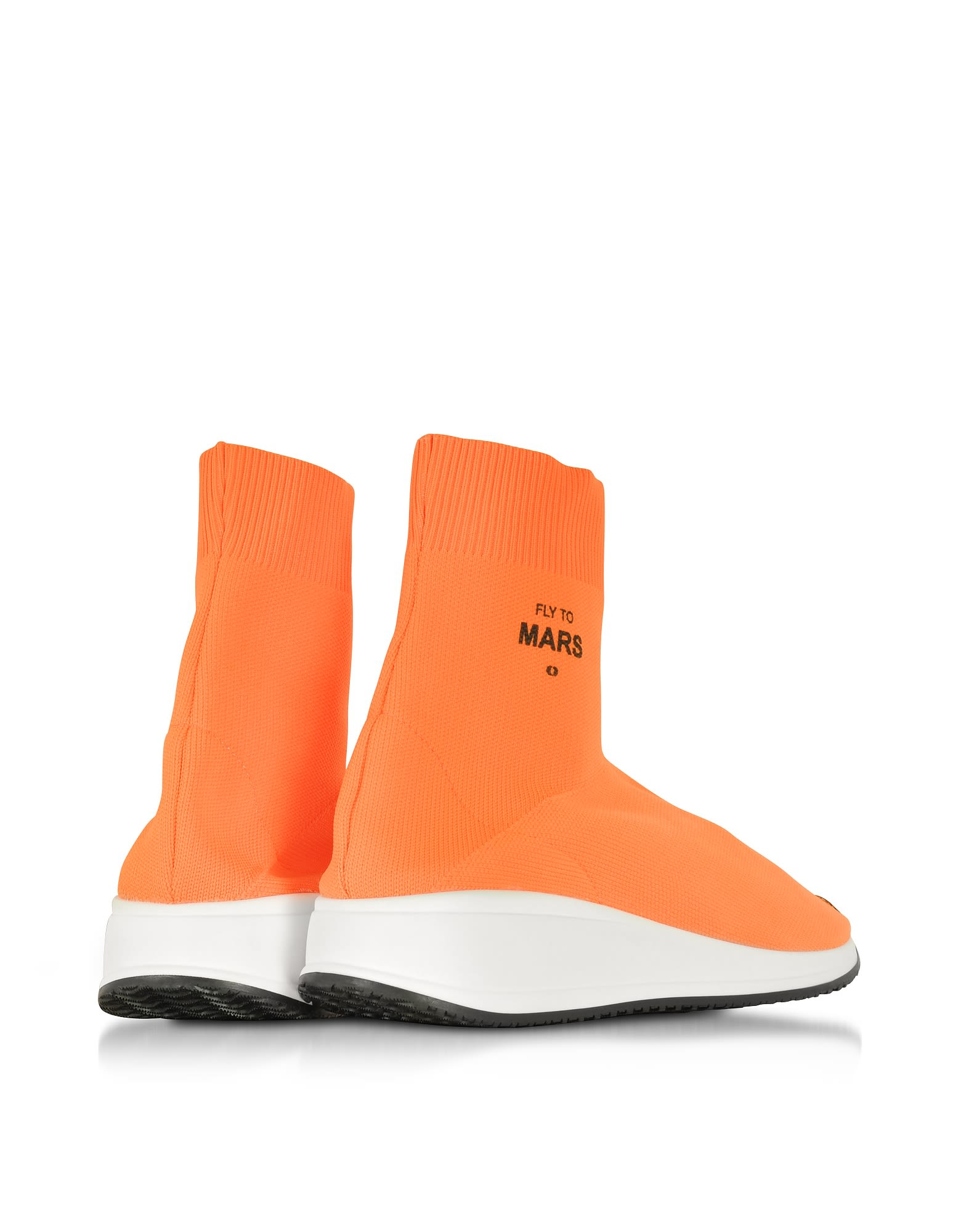 Clearance Purchase JOSHUA SANDERS Fly To Mars Neon Nylon Sock Sneakers High Quality Cheap Price y6Fcv