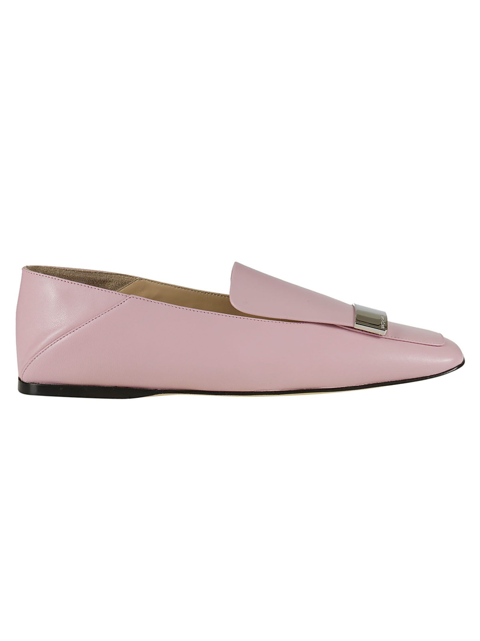Get Authentic For Sale Pictures Sale Online square toe loafers - Pink & Purple Sergio Rossi B5qnDjfW