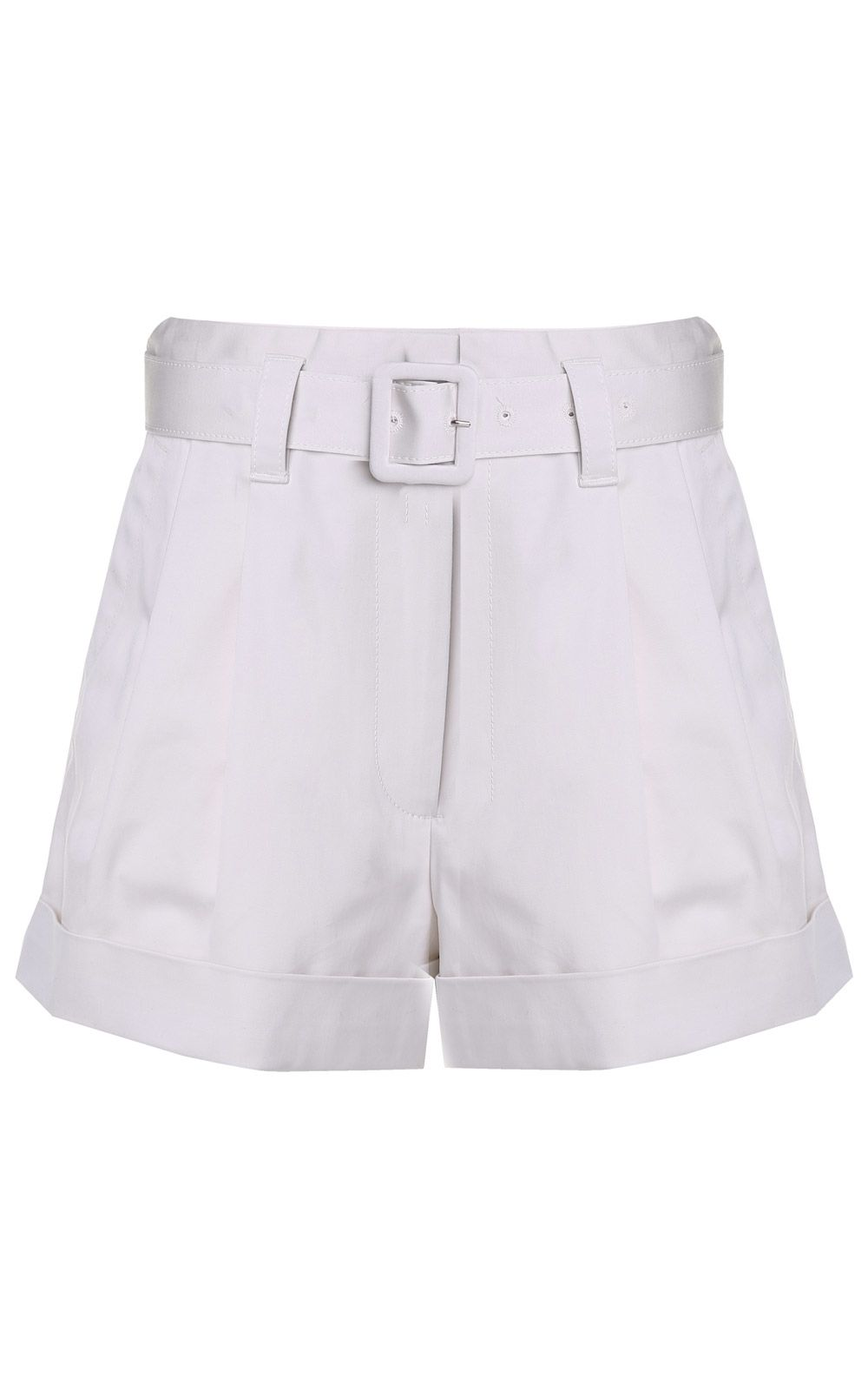 Paper bag-waist cotton shorts Marc Jacobs Free Shipping Enjoy Many Kinds Of Online Outlet 2018 To Buy bGR4l8