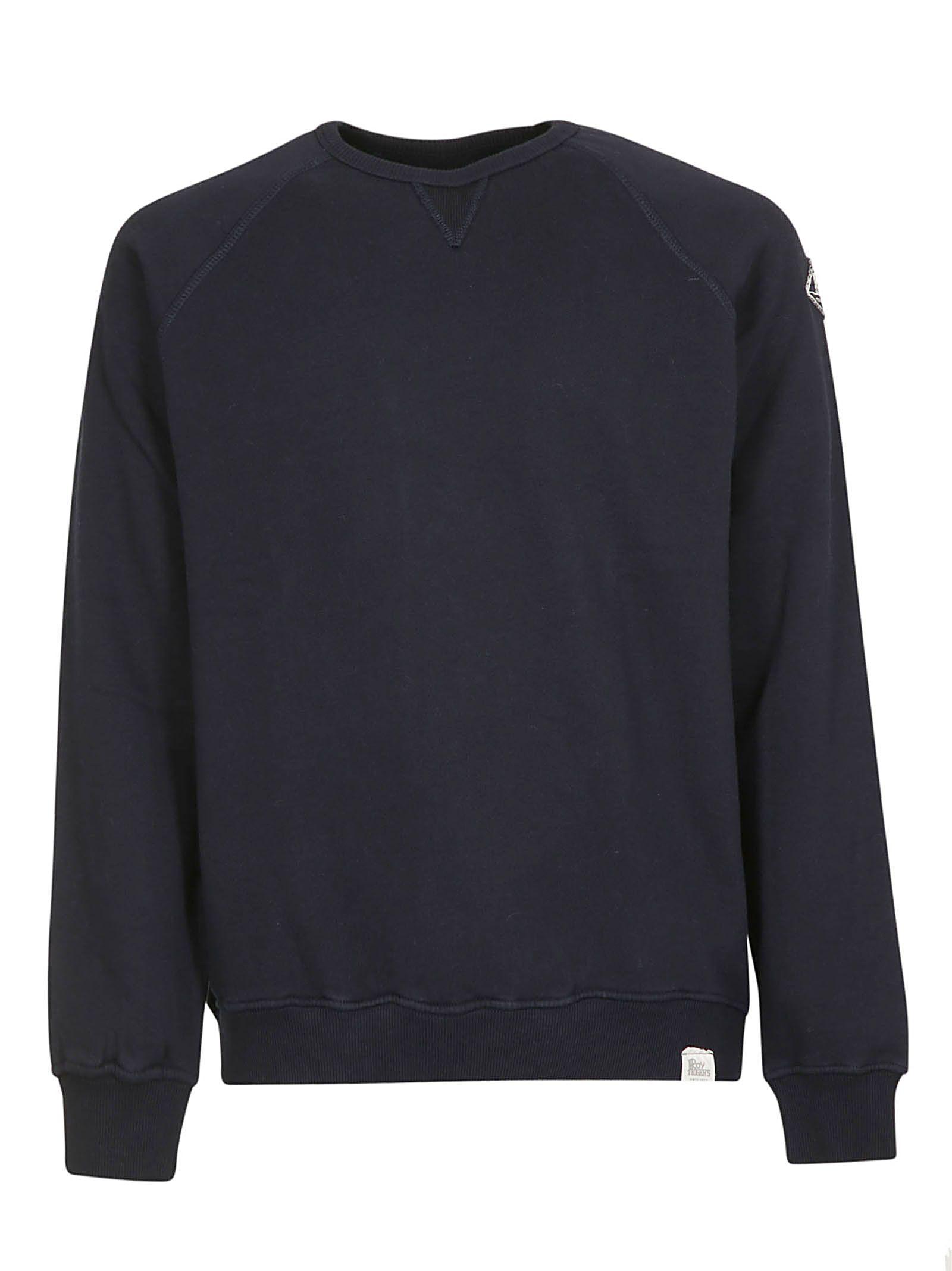 ROY ROGERS Classic Sweatshirt in Blue