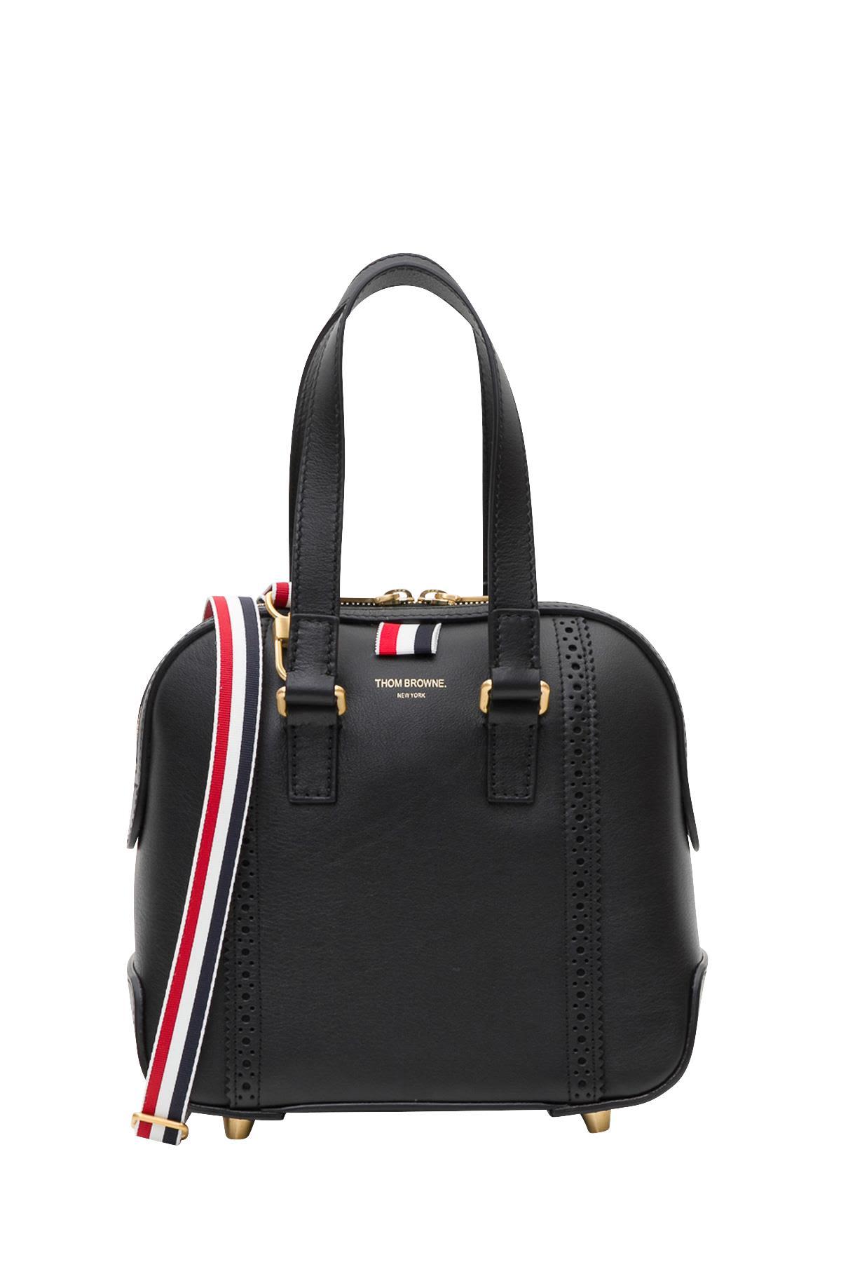 Thom Browne Mrs Thom Mini-Bag In Nero  0867c09e01902
