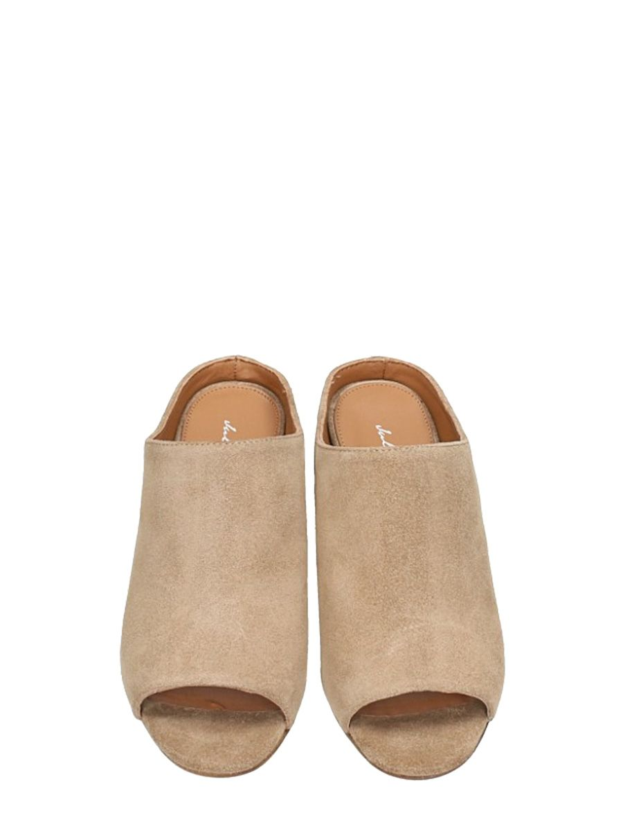 Julie Dee Camel Suede Leather Mules 2018 New For Sale Low Cost Cheap Online Clearance Comfortable Cheap Sale Buy Ost Release Dates vc3zn6b