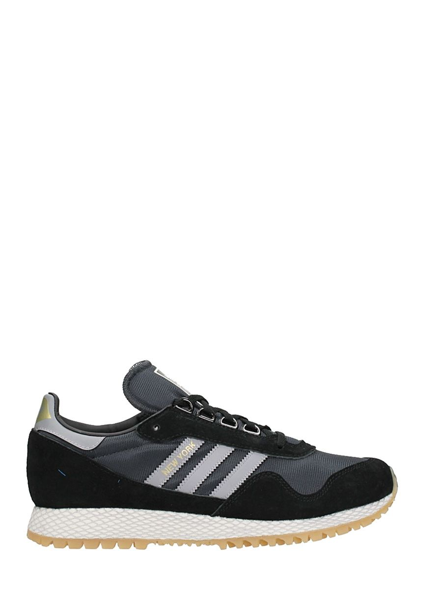 Adidas New York Black Mesh Sneakers 10515781