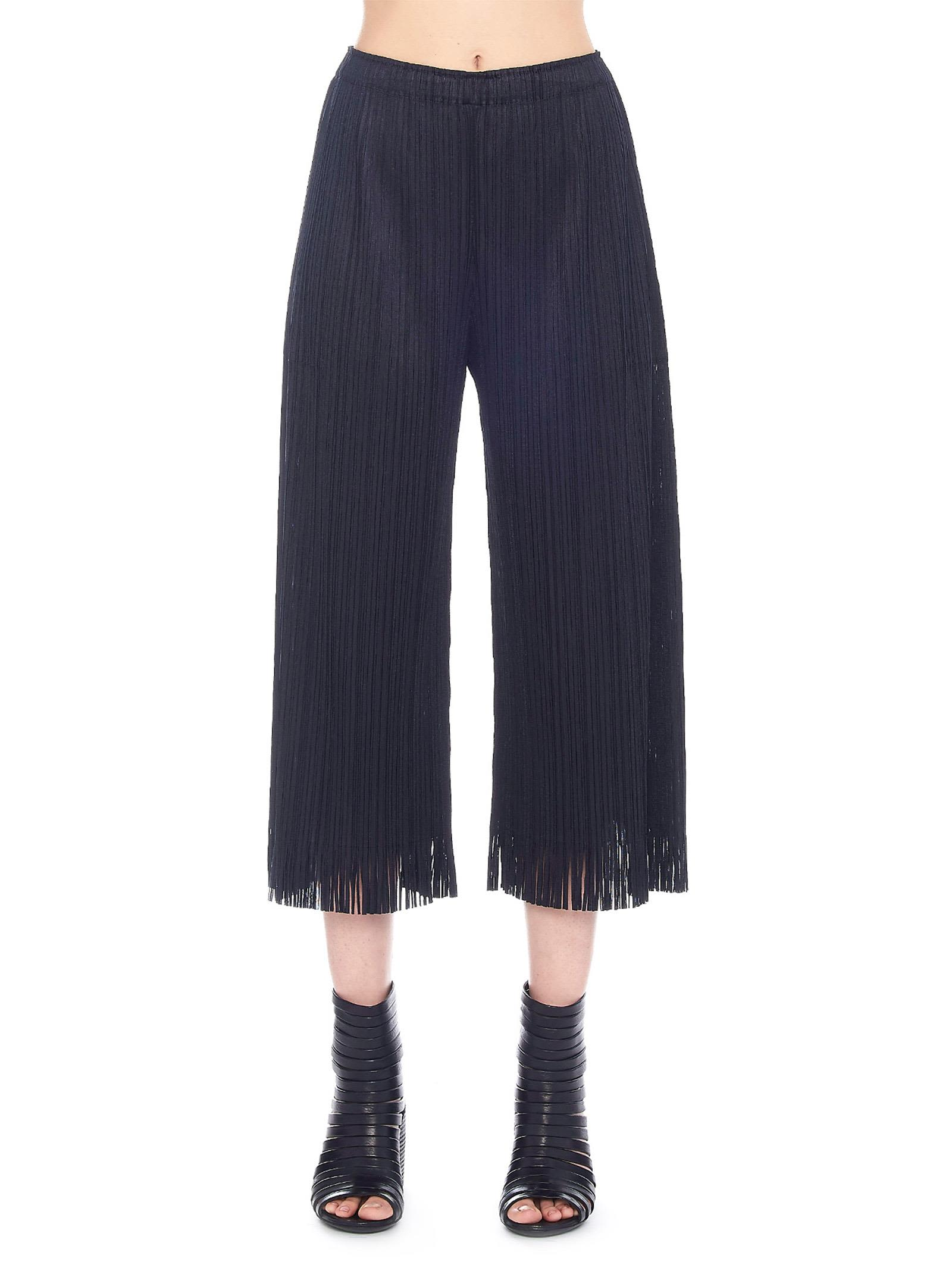 Pleats Please Issey Miyake 'CHAMBRAY' PANTS