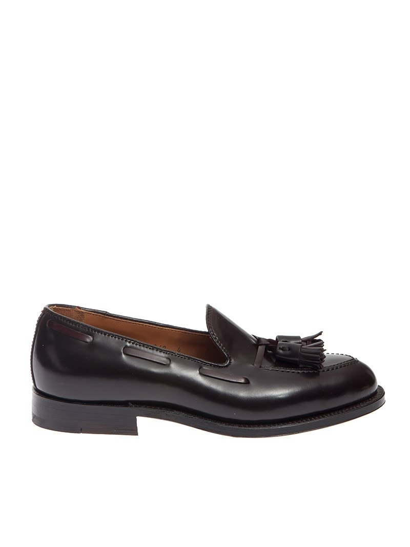 ALDEN SHOE COMPANY LOAFER LEATHER CORDOVAN