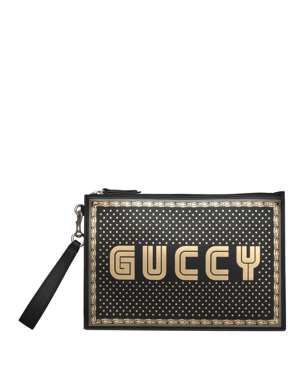 GUCCY LEATHER POUCH