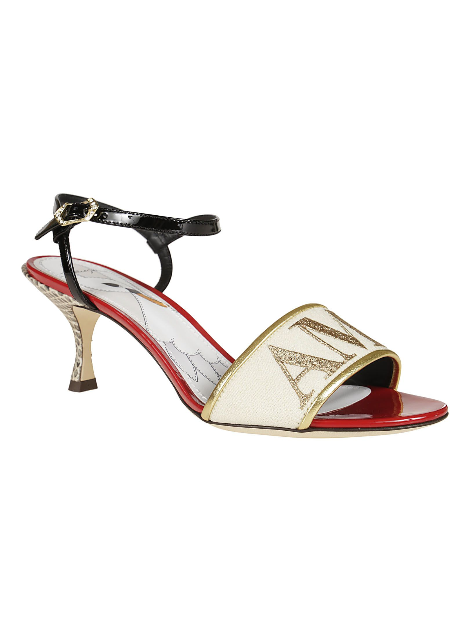 Dolce & Gabbana Women's L'Amore Ankle Strap Pump 6LYoQzXuUu