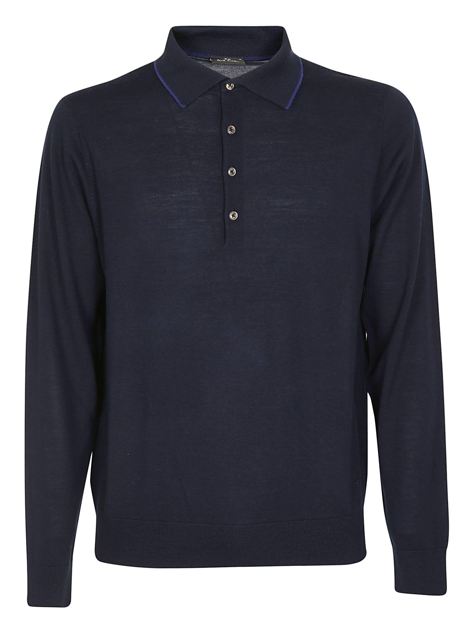 Paul Smith Contrast Polo Shirt