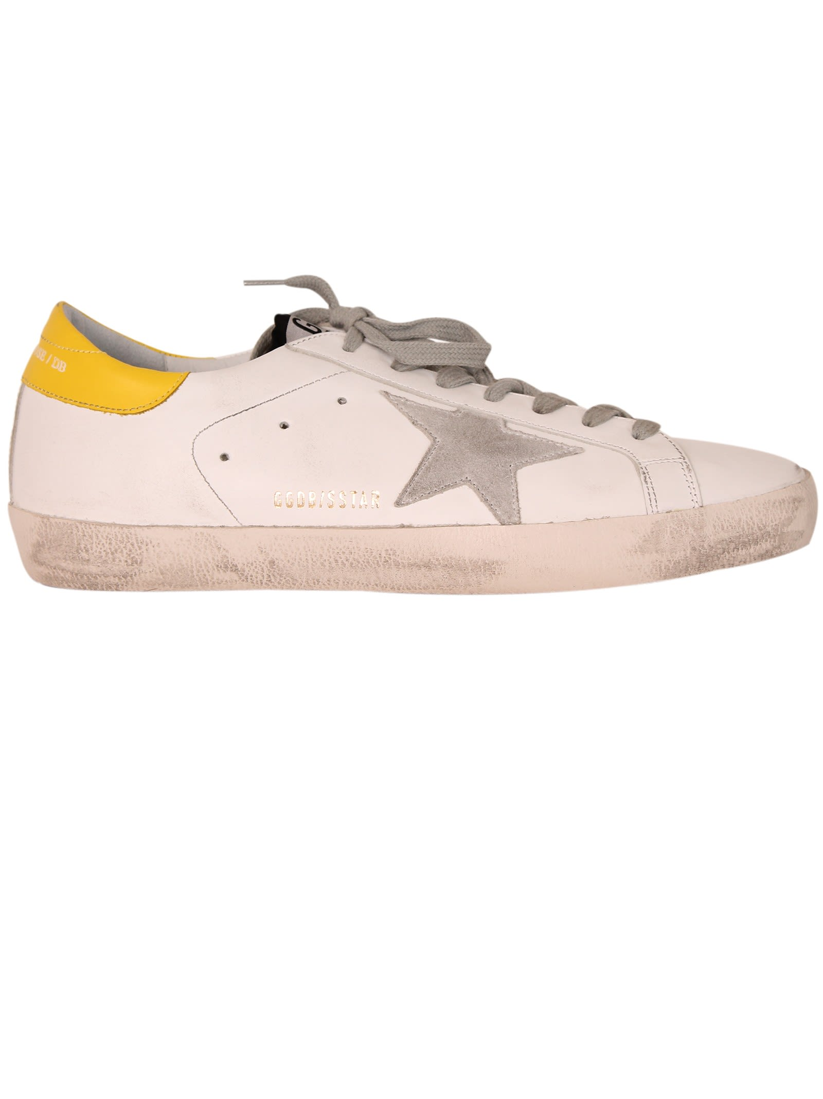 Yellow Superstar sneakers Golden Goose
