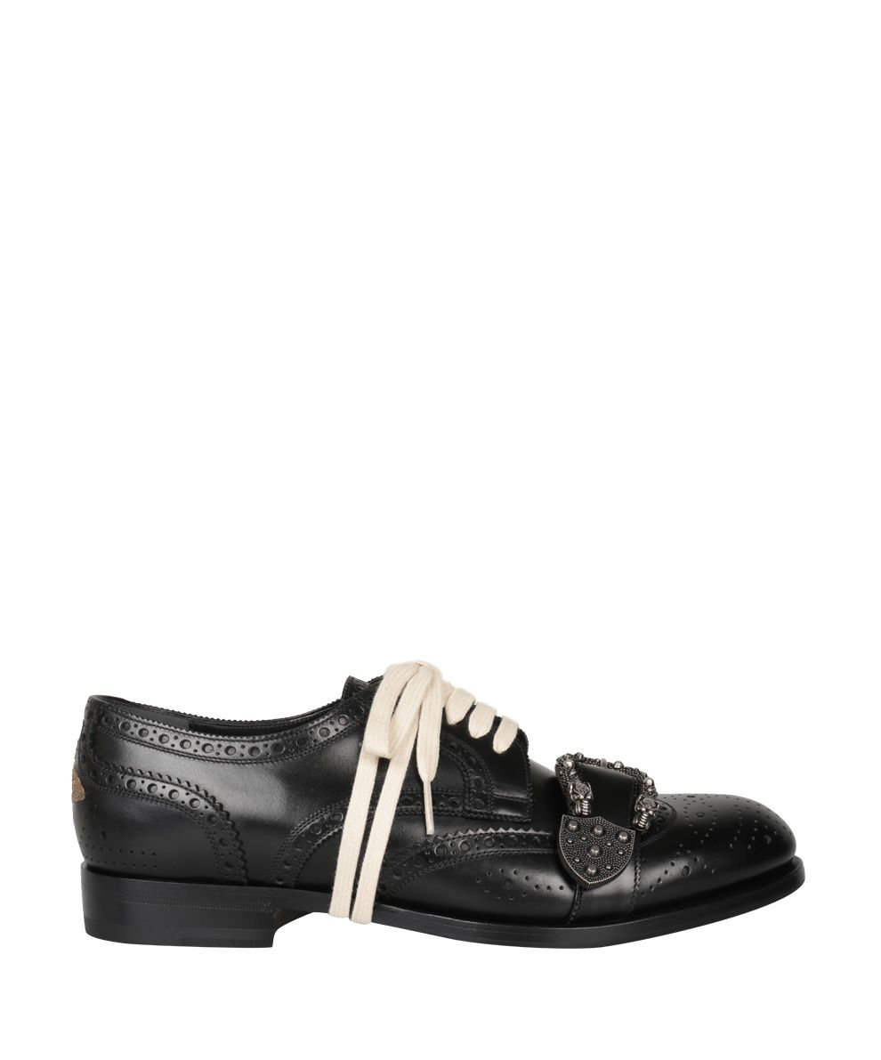 Gucci Queercore Leather Brogue Shoe