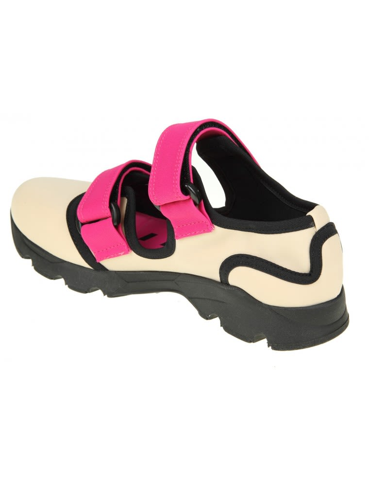 Marni Sneakers In Neoprene Ice Outlet Ebay Genuine Cheap Online With Paypal Online Outlet Largest Supplier T2XgJ