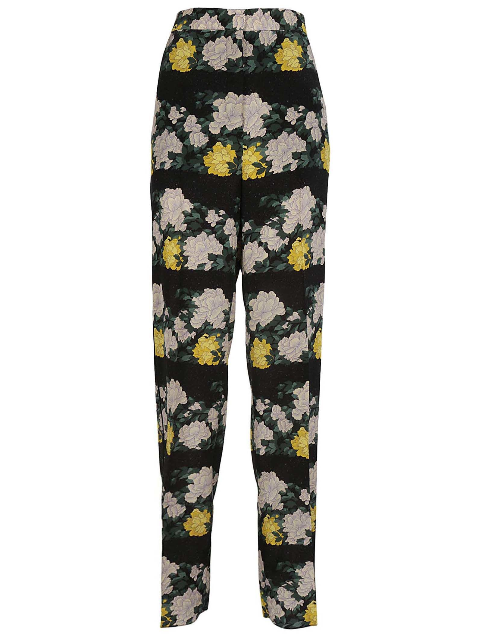 FLORAL TROUSERS from Italist.com