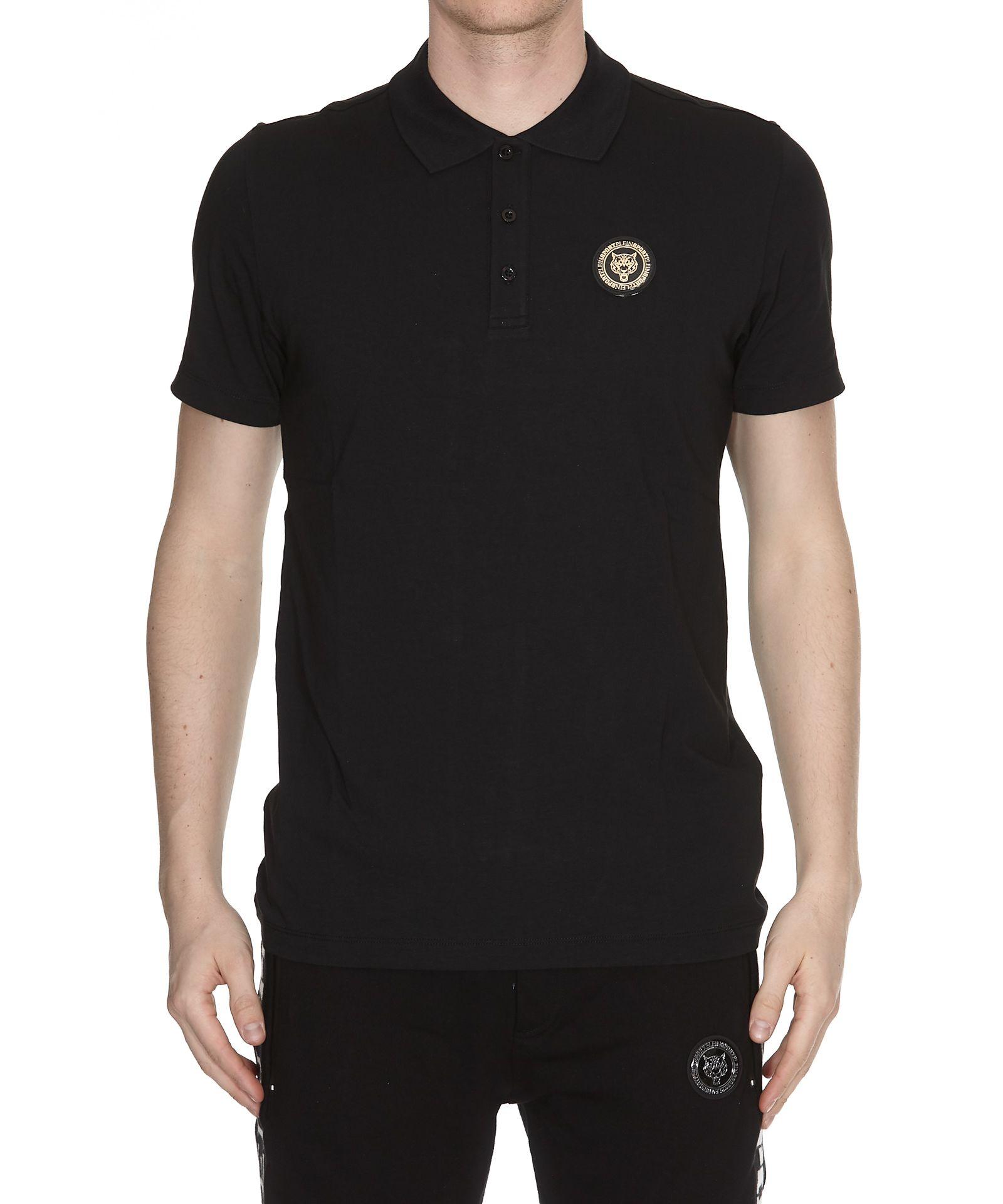 Philipp Plein Go Fast Polo Shirt - Noir