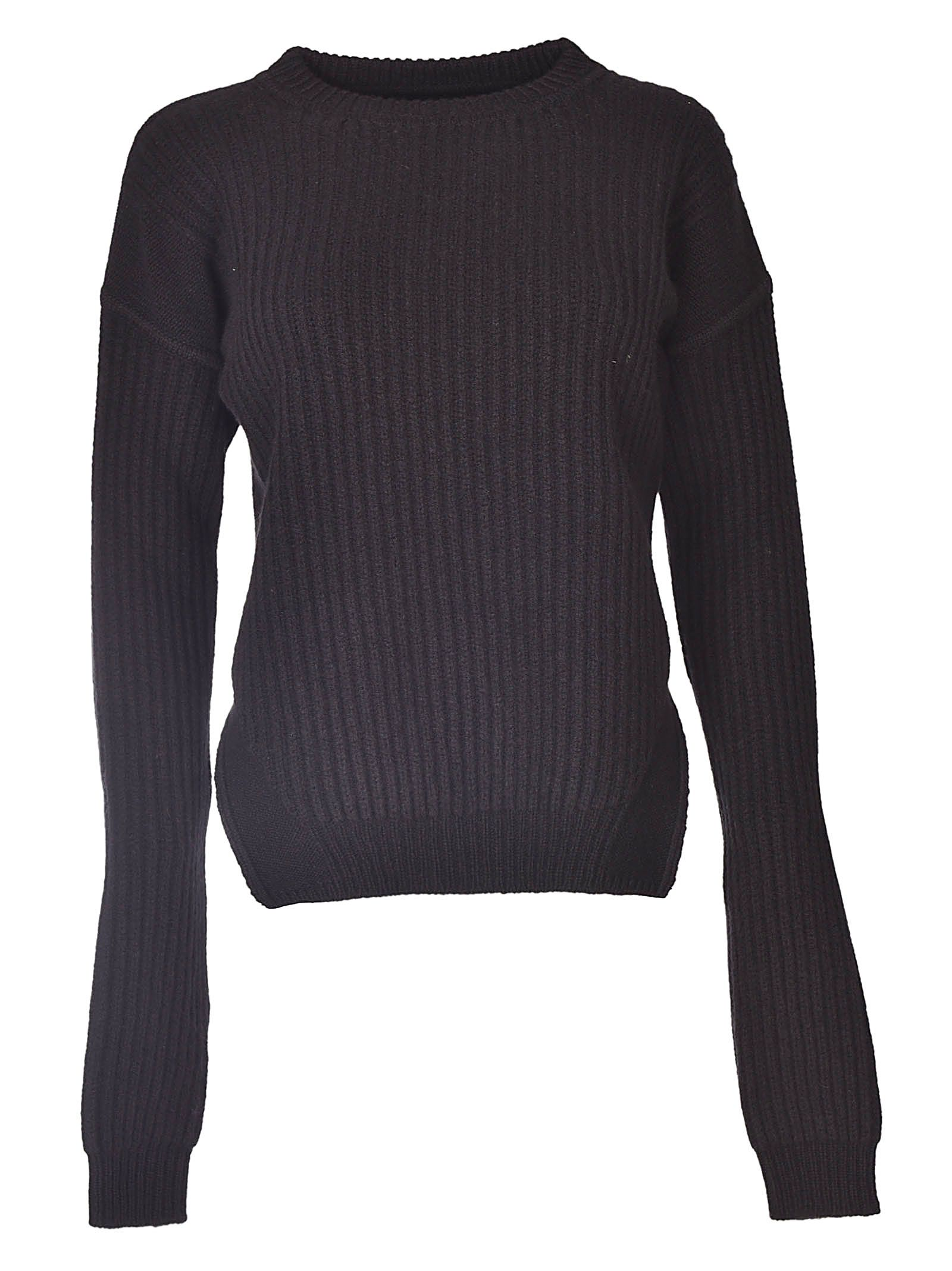 FISHERMAN RIBBED SWEATER
