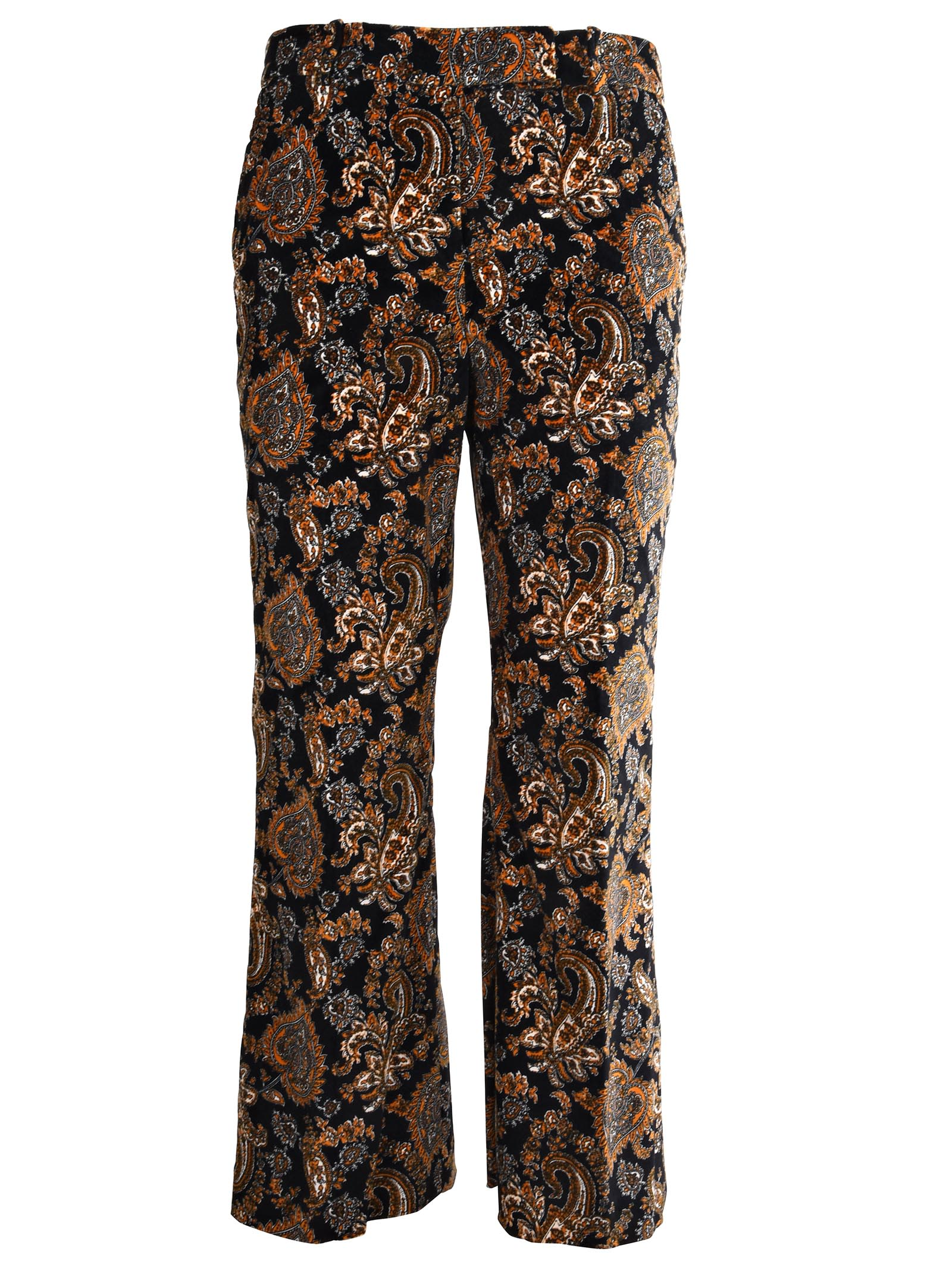 Michael Kors Cottons BAROQUE PATTERN TROUSERS