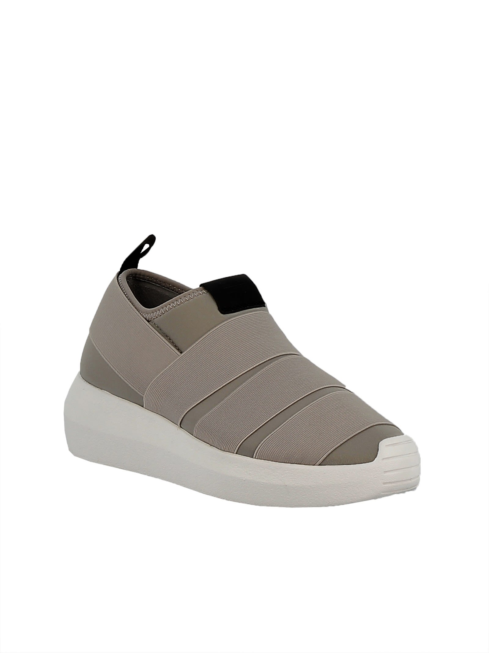 Chaussures De Tissu Gris qgfORhc15