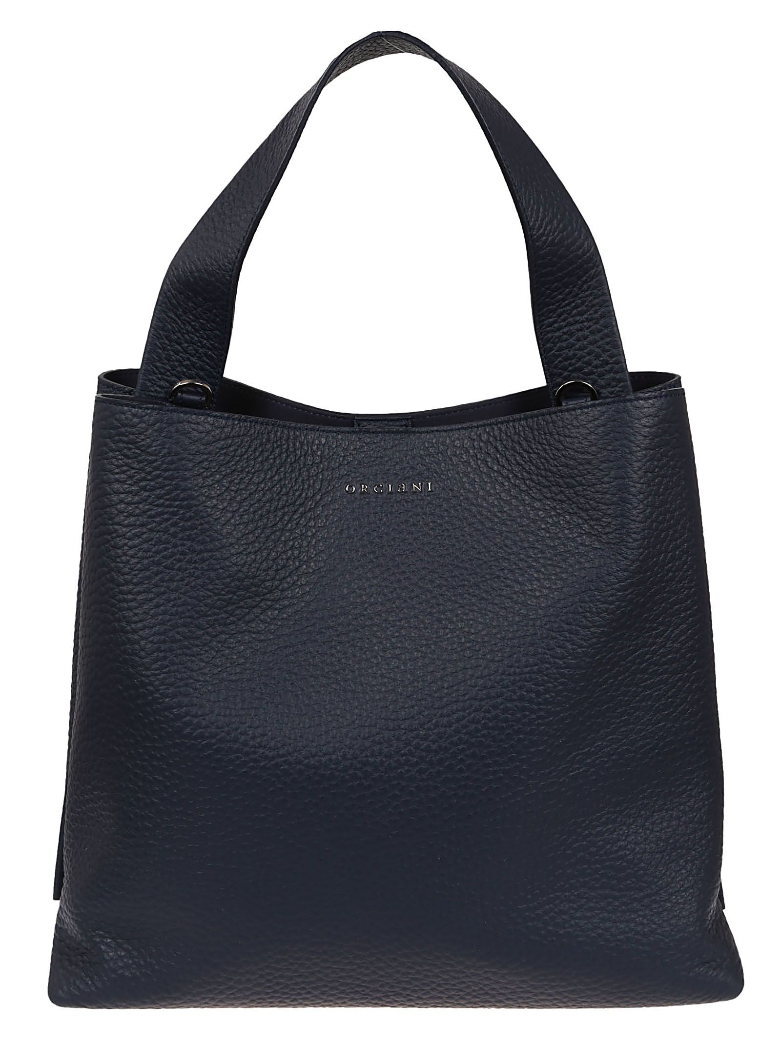 Orciani PLAQUE LOGO TOTE