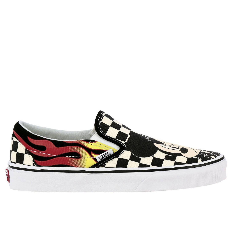X Disney Ua Classic Slip-On Sneaker, Multicolor