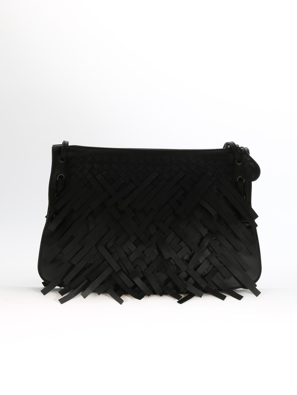 Palio Fringes Bag in Black