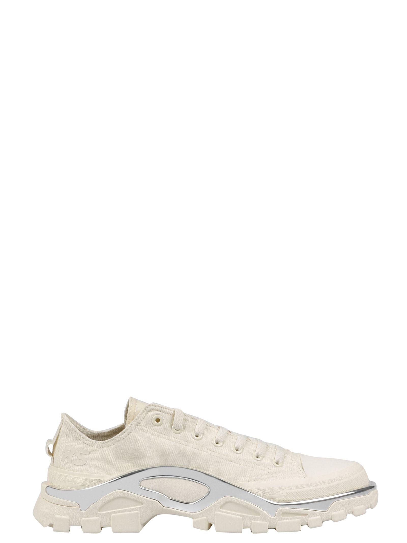 ADIDAS BY RAF SIMONS Rs Detroit Runner Sneakers in Beige